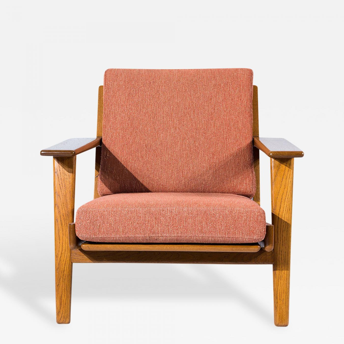 Hans wegner lounge chair - Hans Wegner Hans Wegner Ge 290 Lounge Chair Click On Image To Enlarge