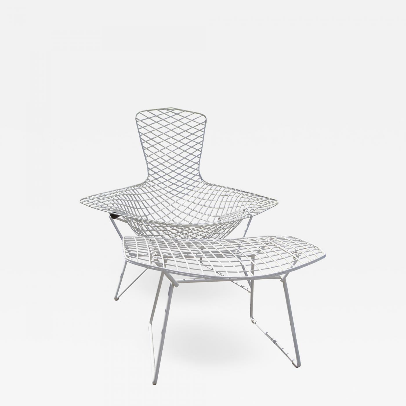 Listings / Furniture / Seating / Lounge Chairs · Harry Bertoia Bird ...  sc 1 st  Incollect & Harry Bertoia - Bird Chair and Ottoman by Harry Bertoia for Knoll