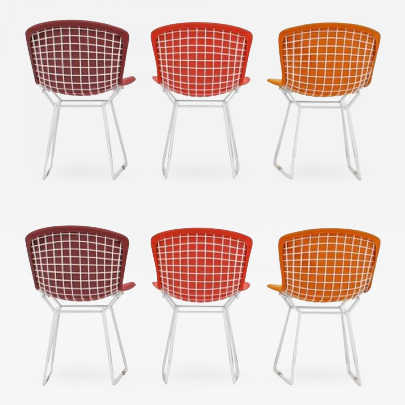 Bertoia Wire Chair | Harry Bertoia Harry Bertoia Wire Chairs For Knoll International Early