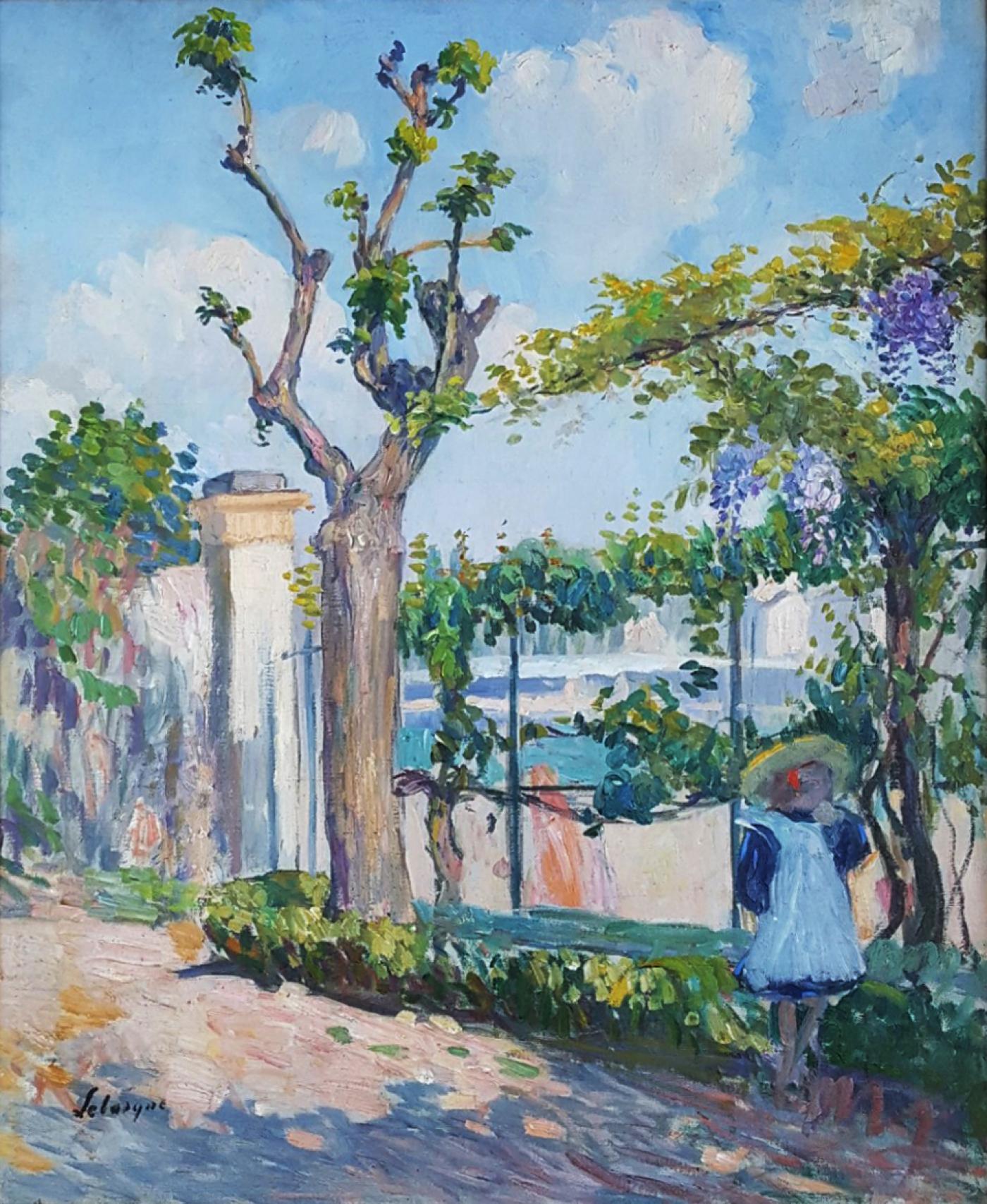 Henri lebasque le jardin de lagny for Le jardin henri vinay