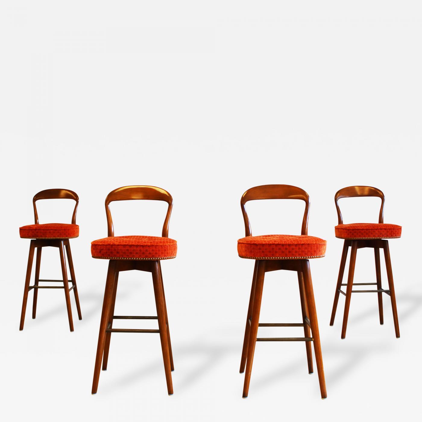 Listings furniture seating stools · henry rosengren hansen mid century modern