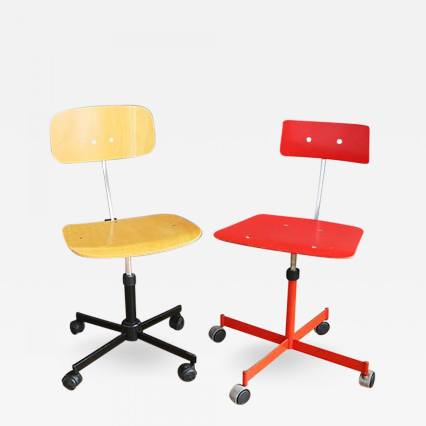 Ib & Jorgen Rasmussen Kevi Adjustable Desk Chairs