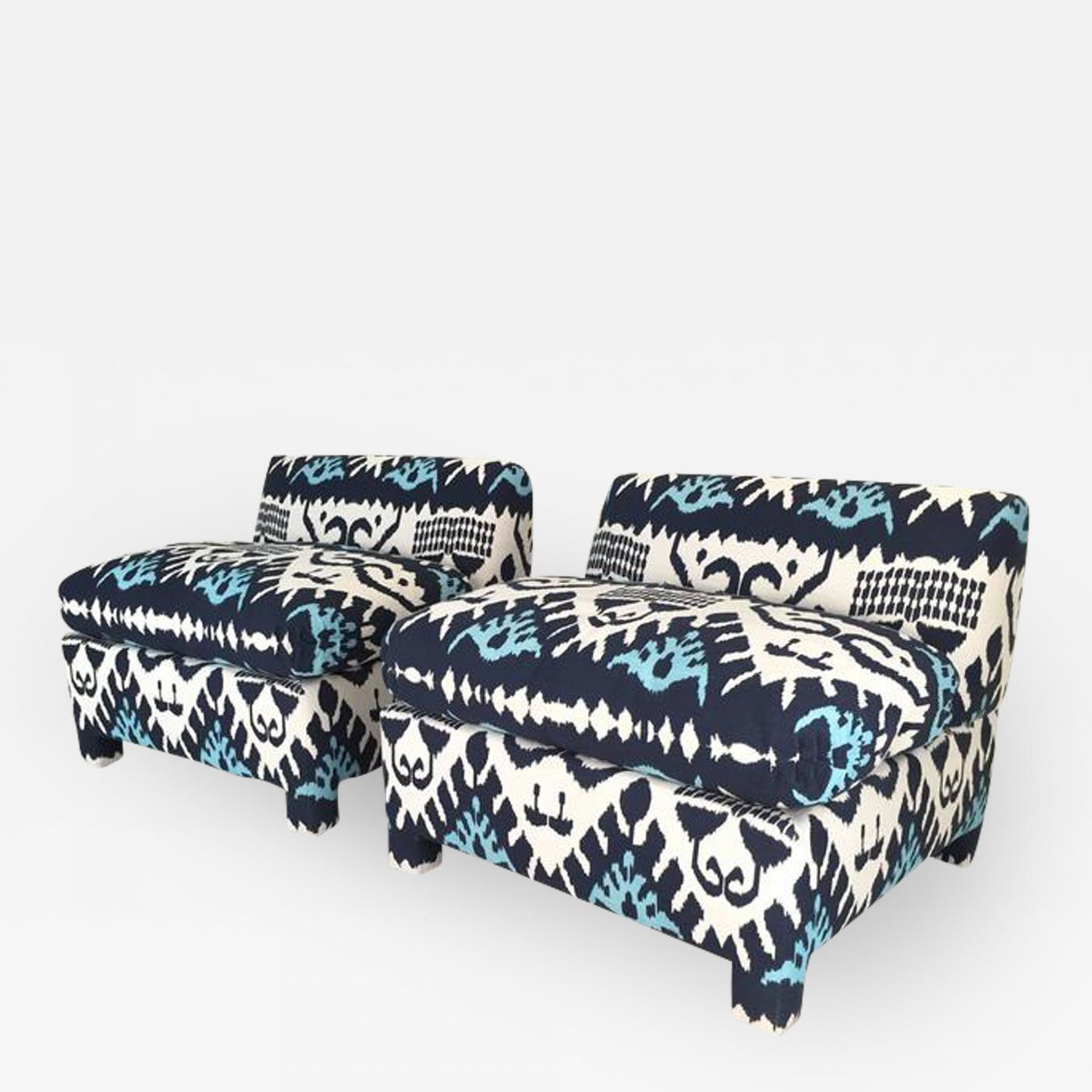 Listings / Furniture / Seating / Lounge Chairs · Ikat Slipper ...