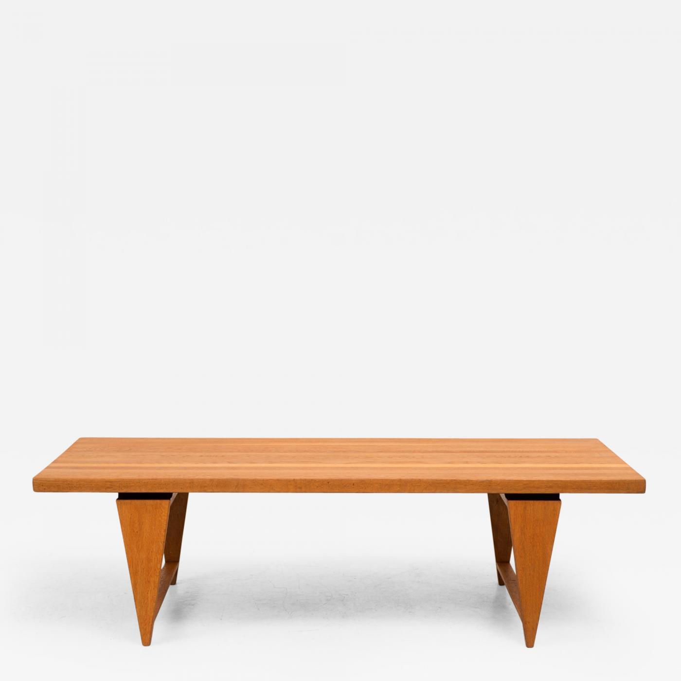 Illum Wikkels¸ Illum Wikkelso Coffee Table in Solid Oak