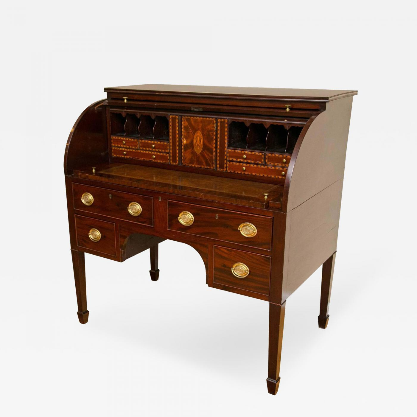 Listings / Furniture / Case Pieces / Desks   Secretaries · Important  Baltimore Federal Period ...