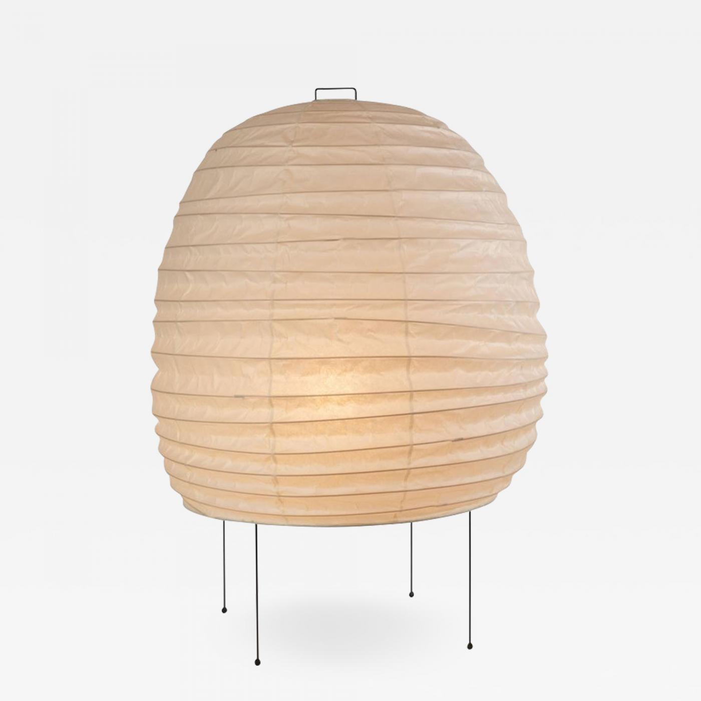Akari furniture Furniture Design Akari Model 20n Light Sculpture By Isamu Noguchi Incollect Isamu Noguchi Akari Model 20n Light Sculpture By Isamu Noguchi