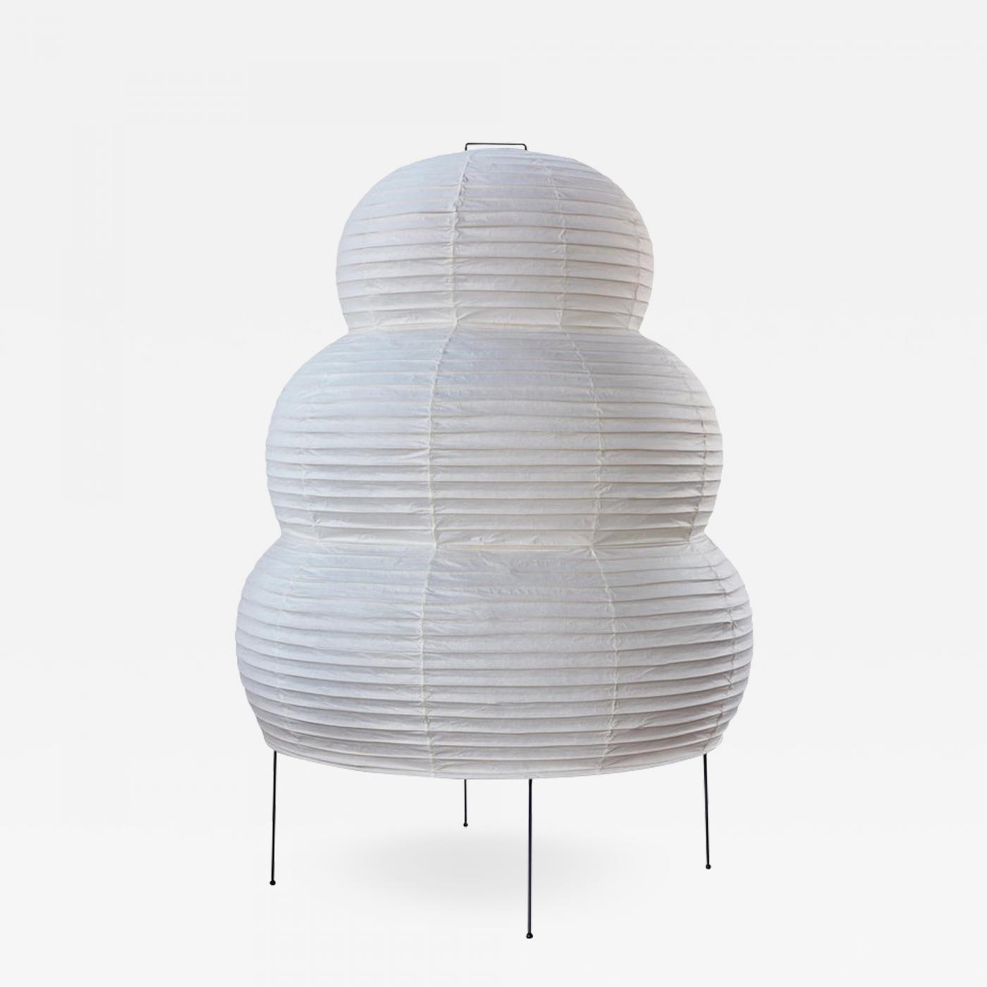 Akari furniture Designer Salary Large Isamu Noguchi Akari 25n Floor Lamp Incollect Isamu Noguchi Large Isamu Noguchi Akari 25n Floor Lamp