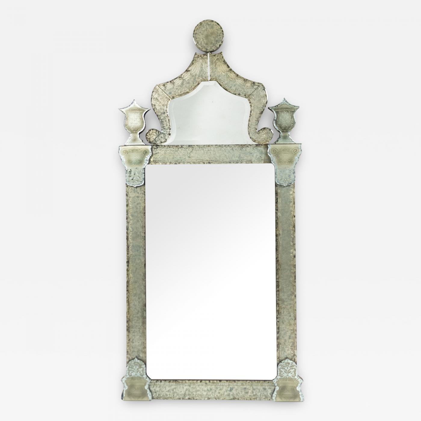 Italian Venetian Style Wall Mirror