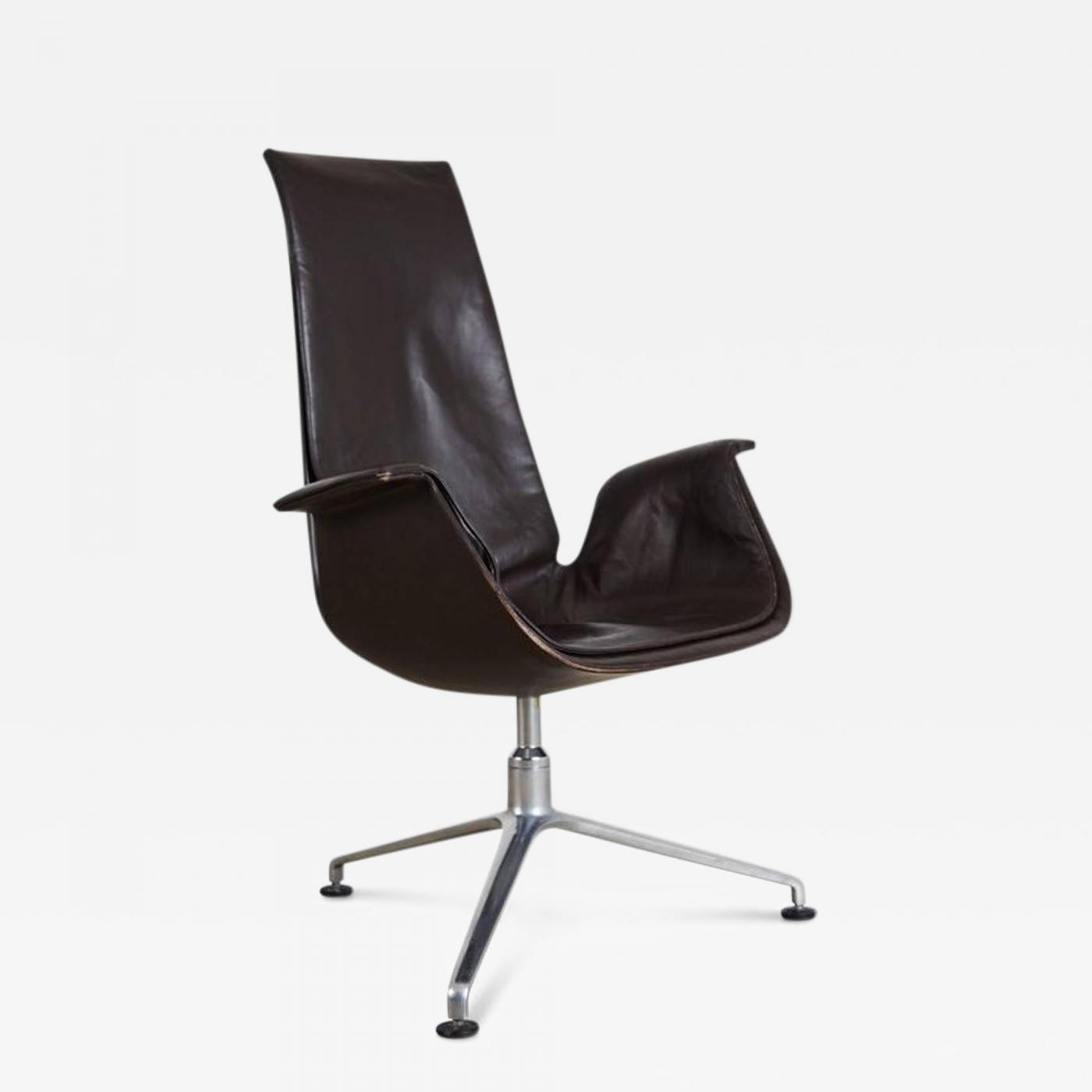 J¸rgen Kastholm & Preben Fabricius FK 6725 Bird Chair by Preben