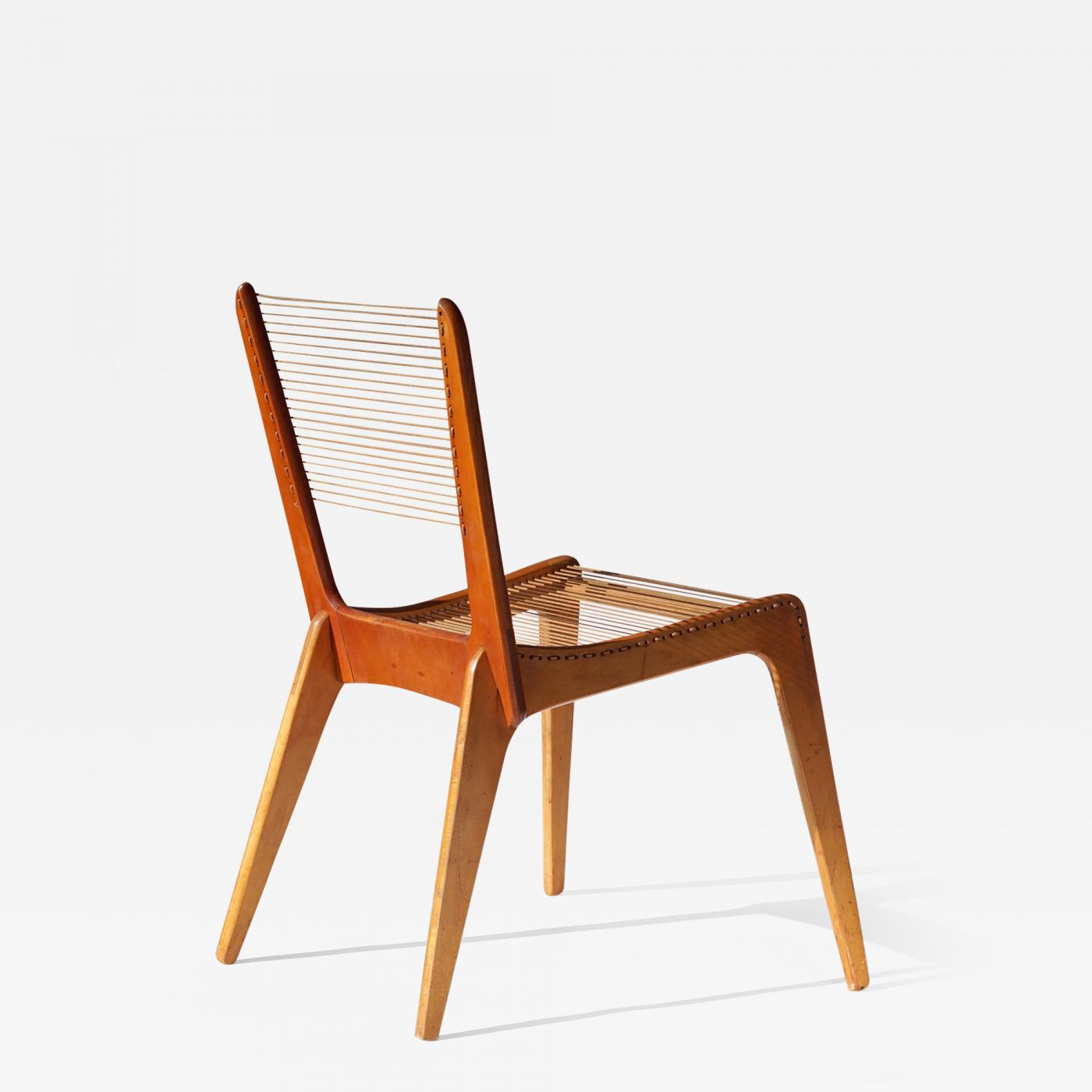 Listings / Furniture / Seating / Side Chairs · Jacques Guillon String Chair