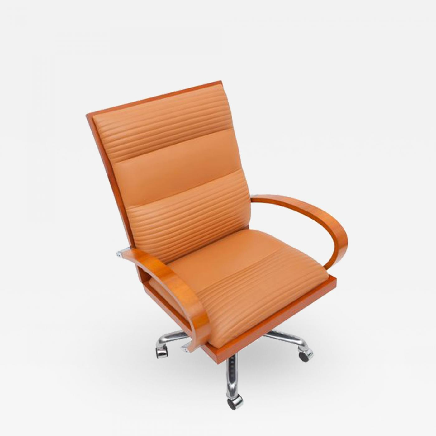 Peachy Jaime Tresserra Casablanca Managers Desk Chair By Tresserra 1987 Caraccident5 Cool Chair Designs And Ideas Caraccident5Info
