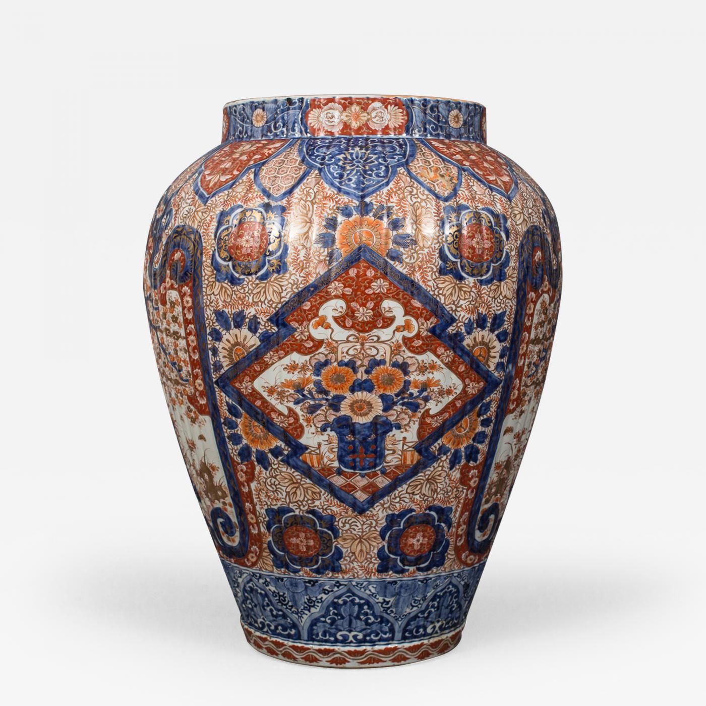 Japanese imari tall fluted vase listings decorative arts objects vases jars urns japanese imari tall fluted vase reviewsmspy