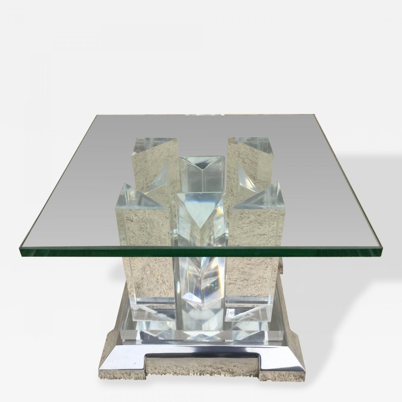 Popular 225 List Glass Side Tables