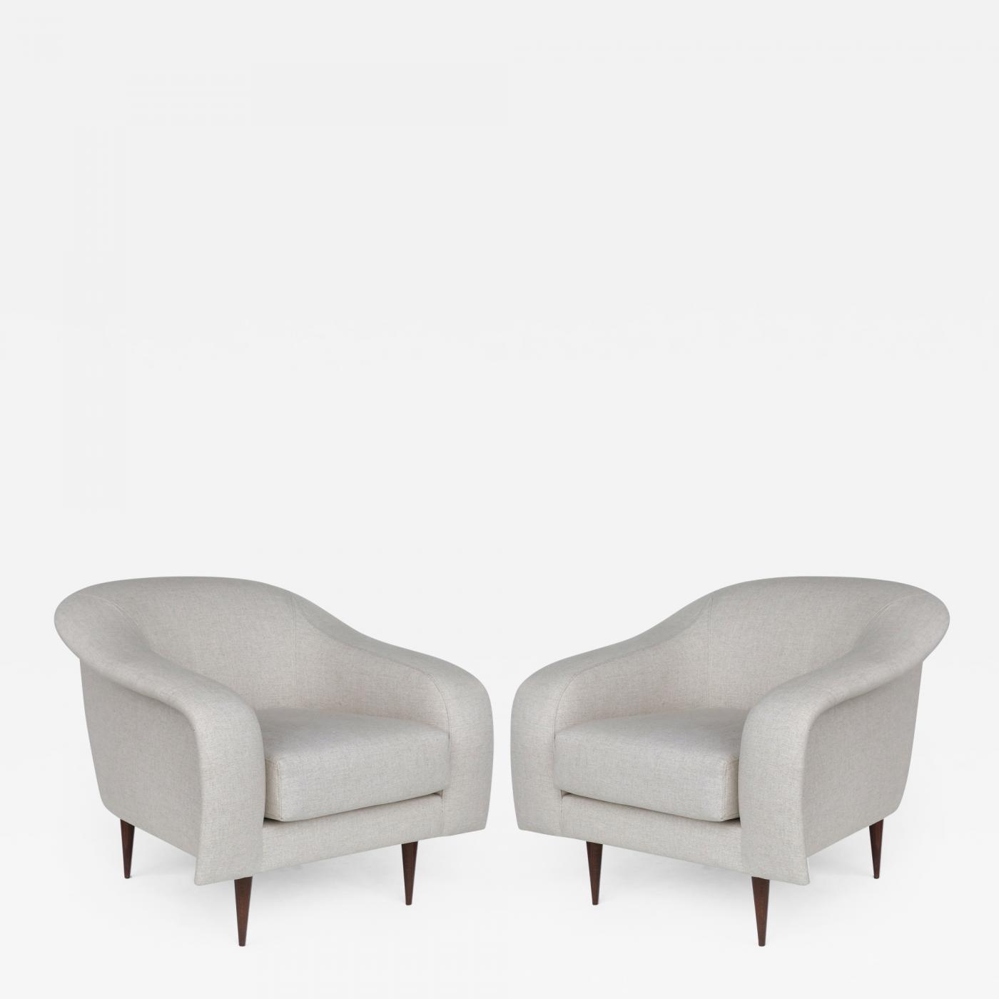Stupendous Joaquim Tenreiro Brazilian Mid Century Modern Club Chairs By Joaquim Tenreiro Re Edition Gamerscity Chair Design For Home Gamerscityorg