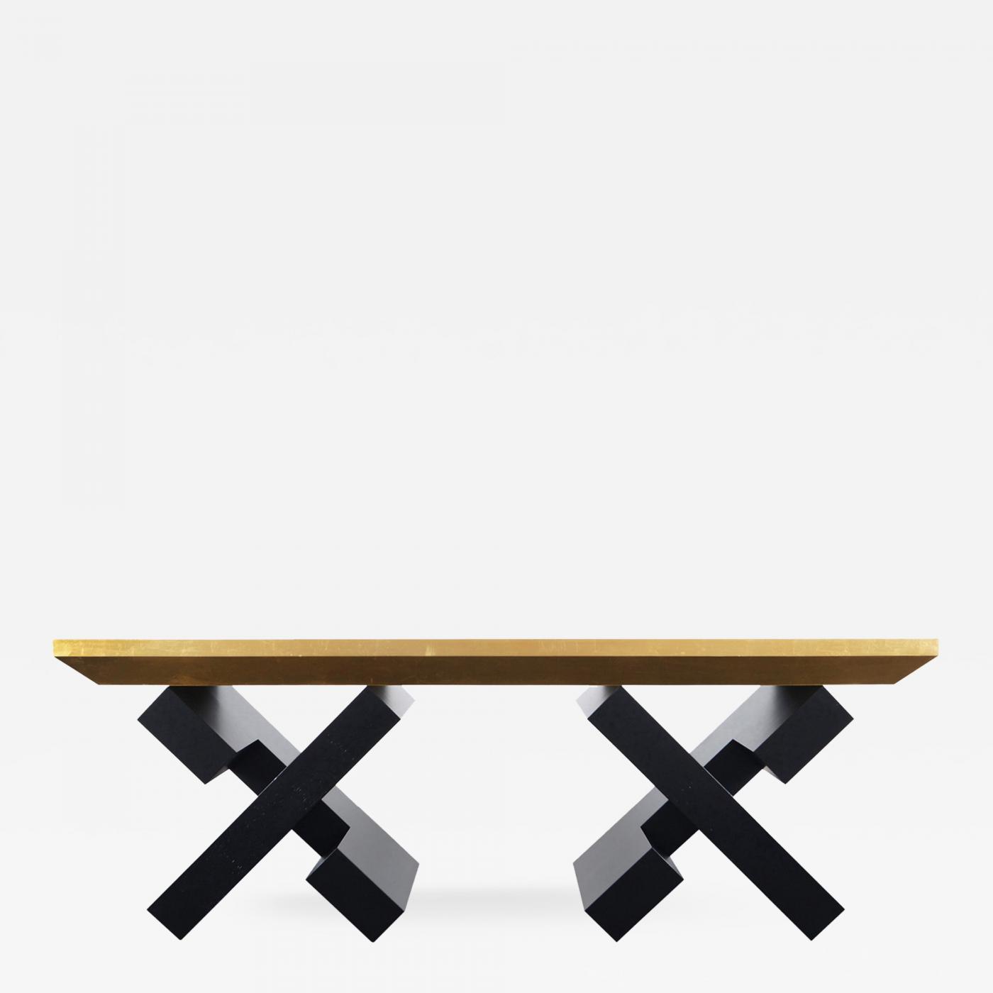 Listings / Furniture / Tables / Console U0026 Pier Tables · John Patton Duval  Vintage Gold Leaf ...