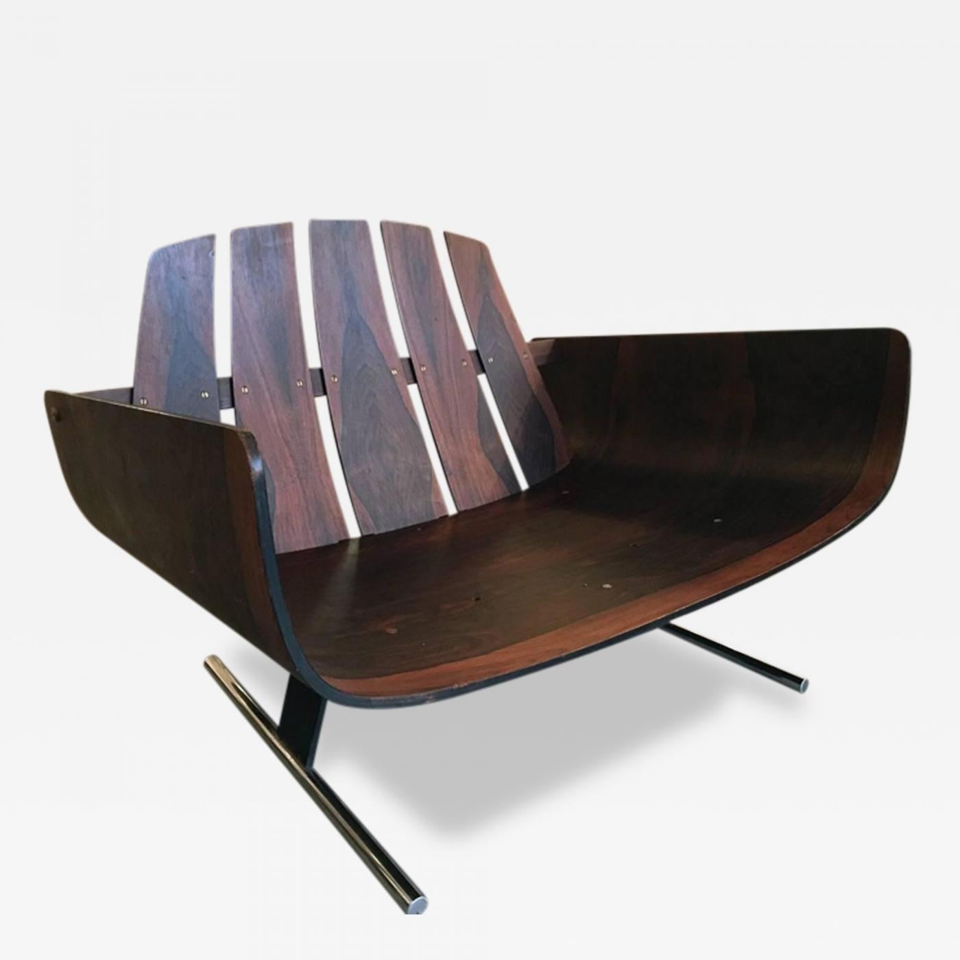 Listings / Furniture / Seating / Armchairs · Jorge Zalszupin Brazilian  Rosewood ...