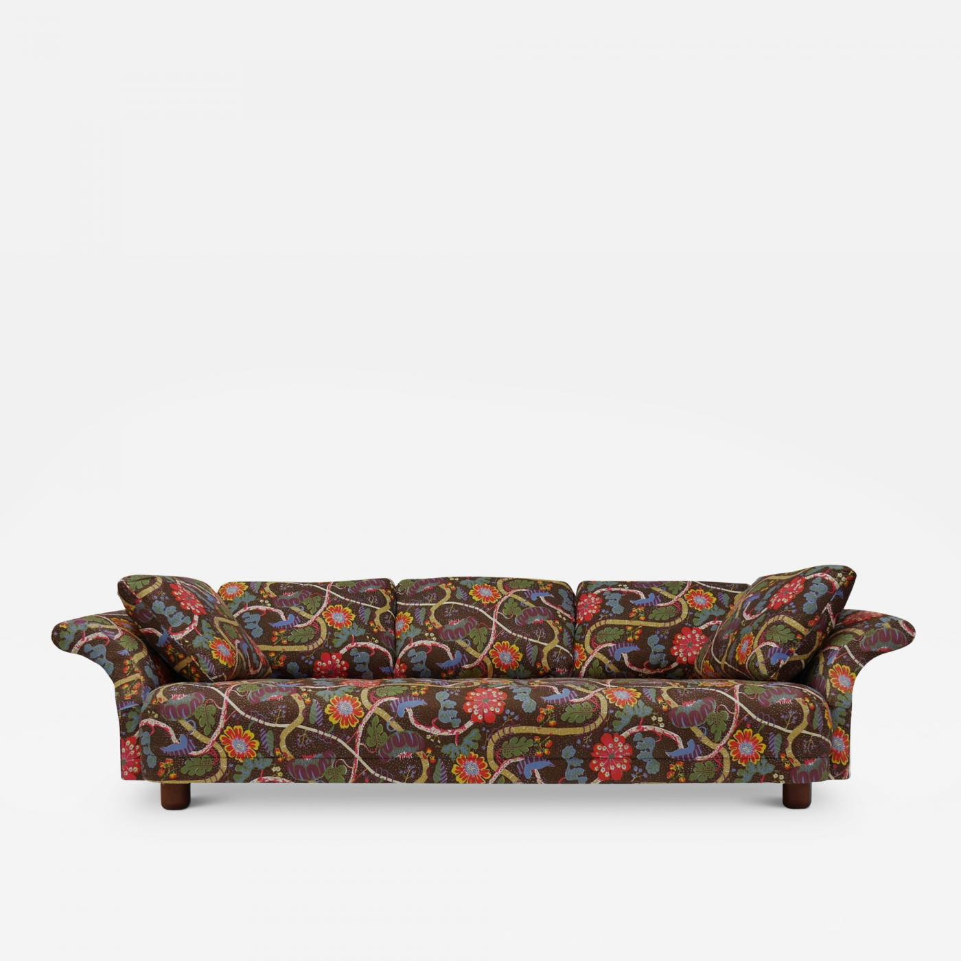 Josef Frank Liljevalch Sofa and Lounge Chair by Josef Frank