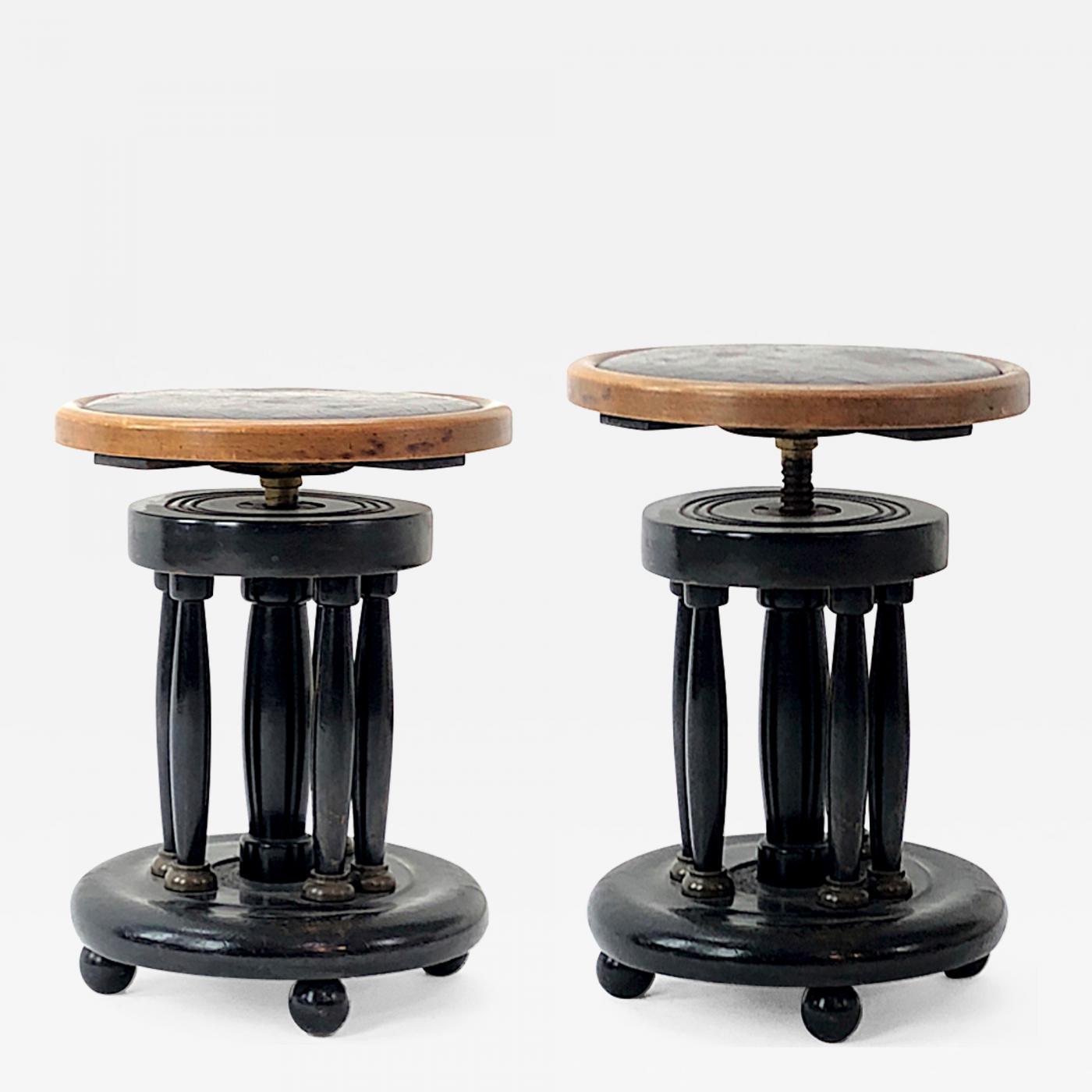 Fantastic Hoffman Austrian Succession Rarest Adjustable Piano Stool Theyellowbook Wood Chair Design Ideas Theyellowbookinfo