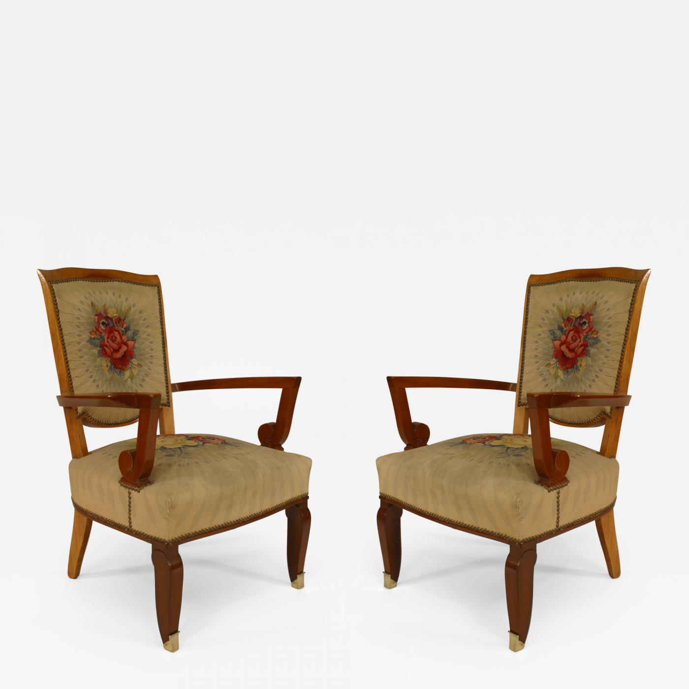 Pair Of Armchairs Getty Museum