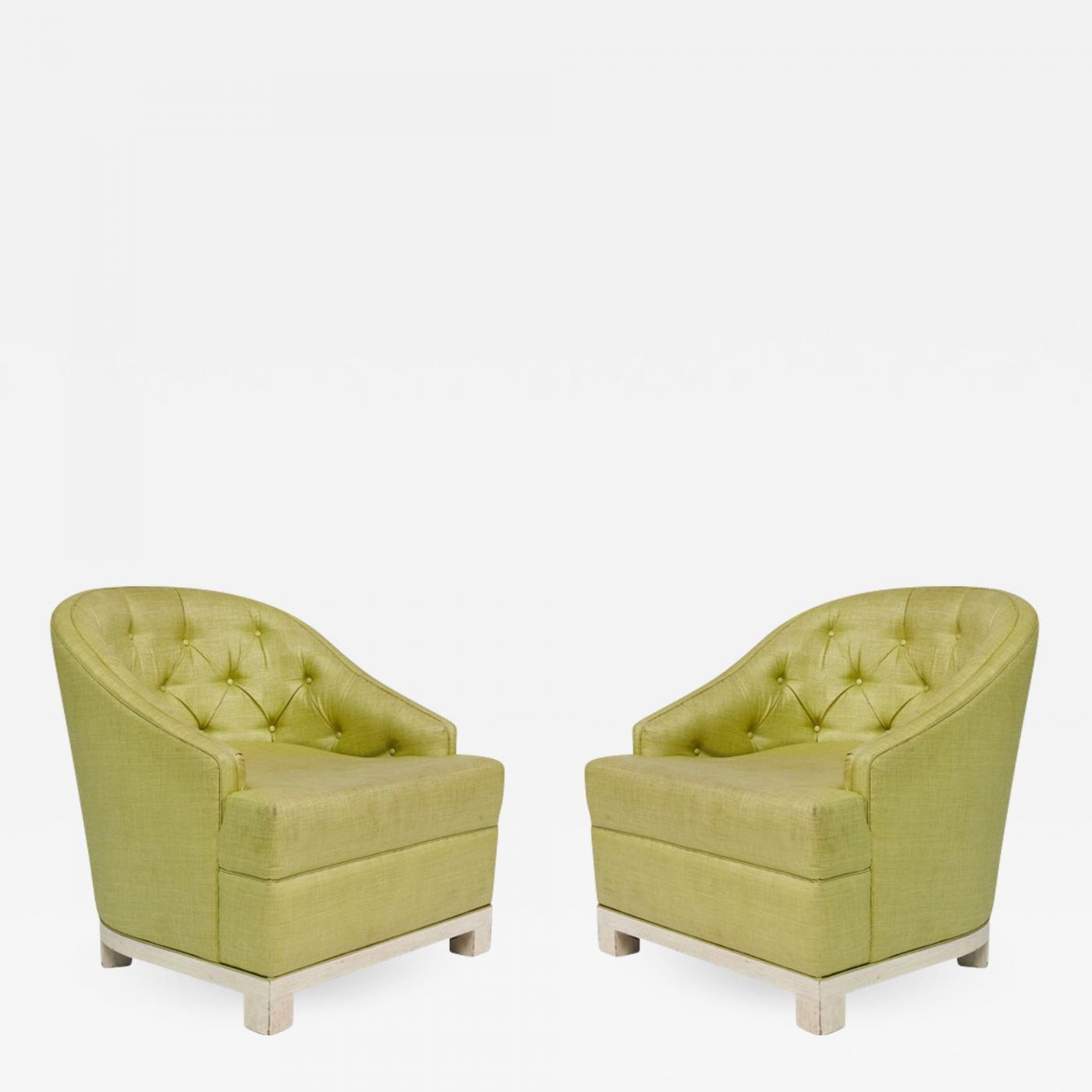 Kelly Wearstler Furniture: Pair Of Kelly Wearstler Chairs From The