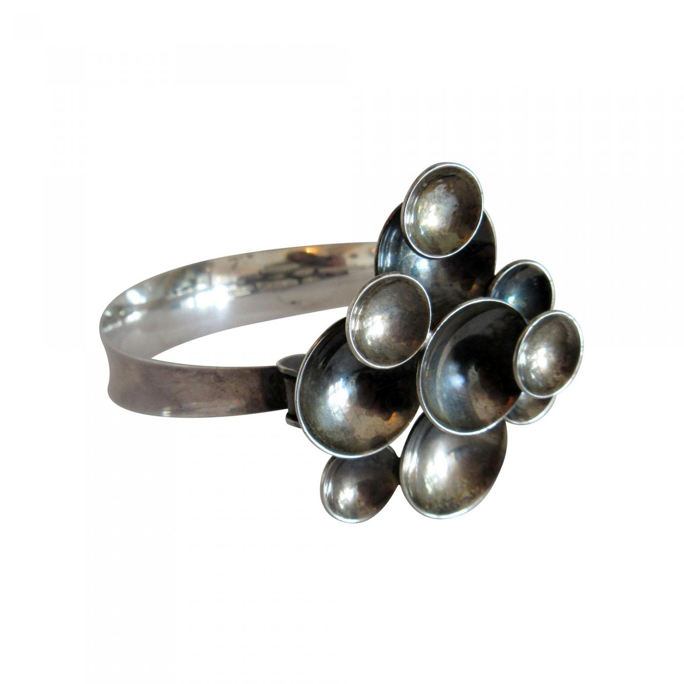 Vintage Kupittaan Kulta Finland Sterling Silver Bracelet