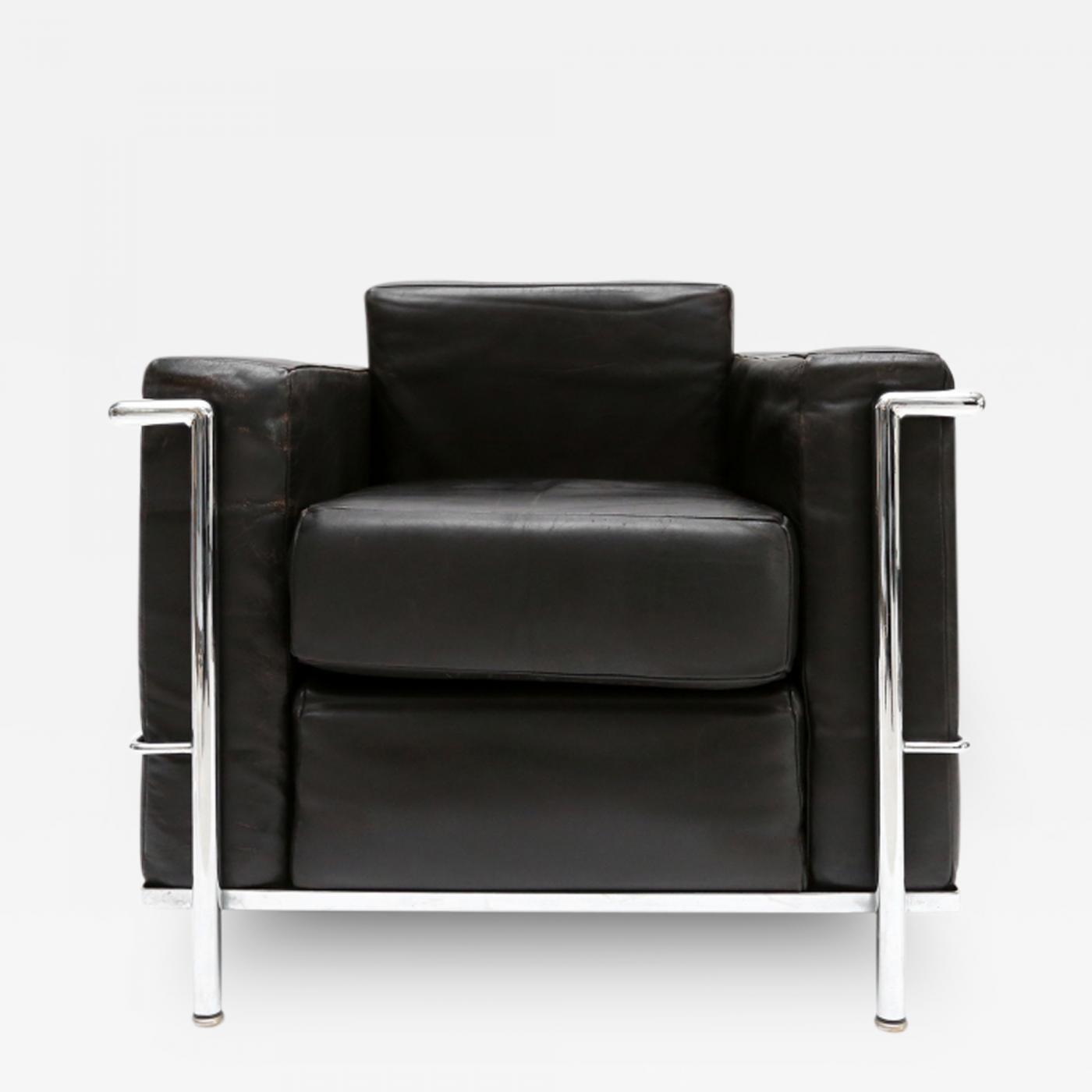 le corbusier jeanneret perriand original 1st edition lc2. Black Bedroom Furniture Sets. Home Design Ideas