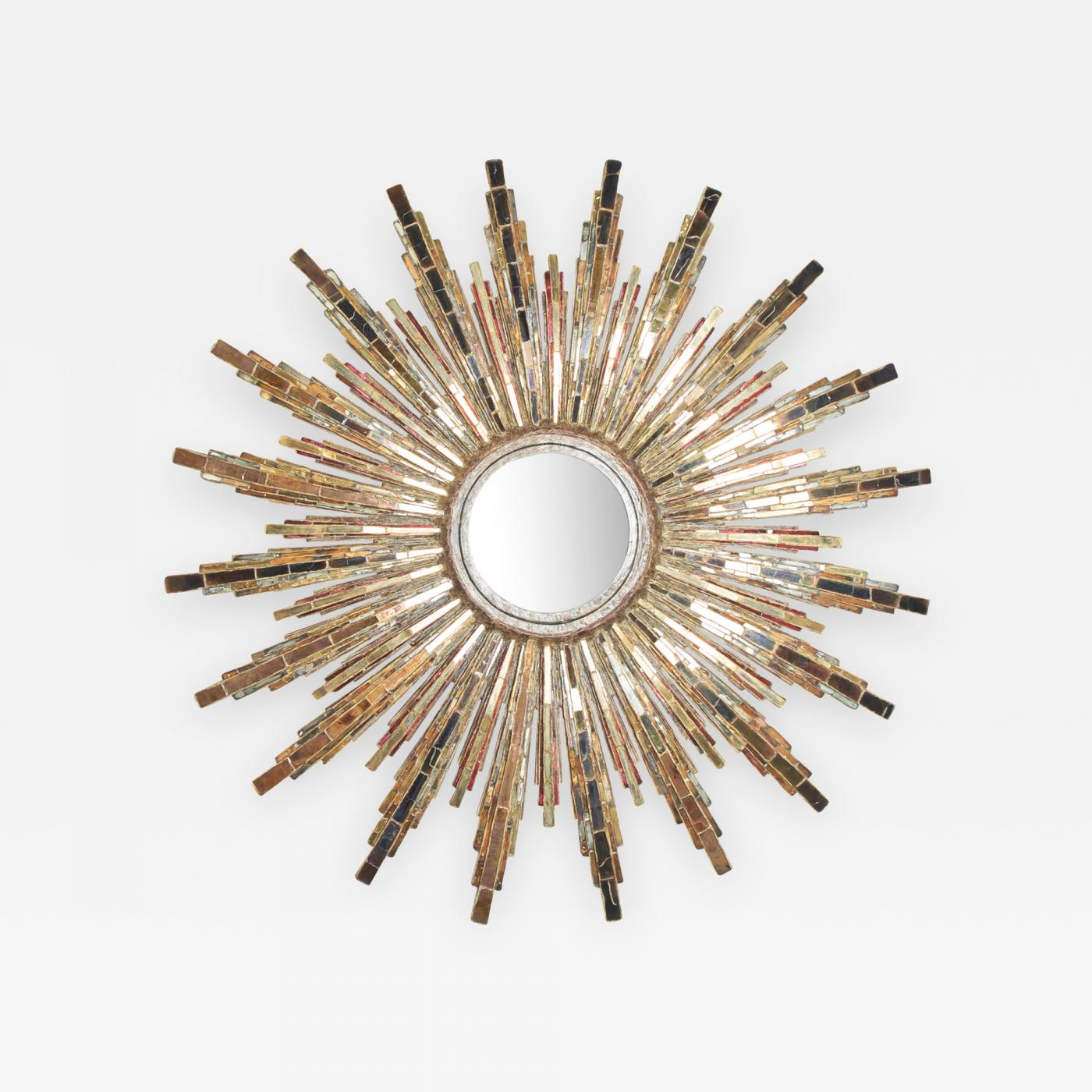 Line vautrin roi soleil wall mounted mirror listings decorative arts mirrors wall mirrors amipublicfo Choice Image