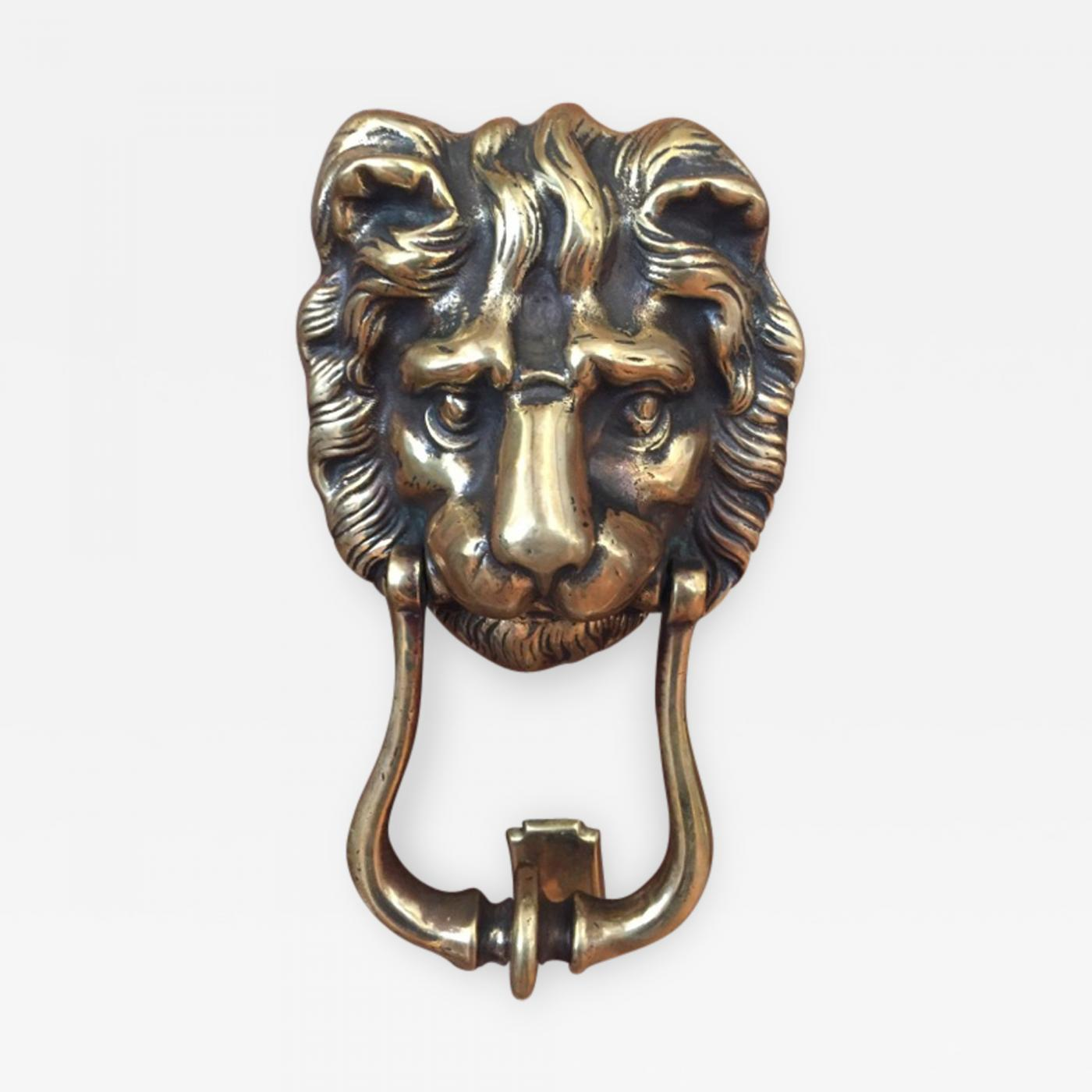 Lion Head Door Knocker. Tap To Expand