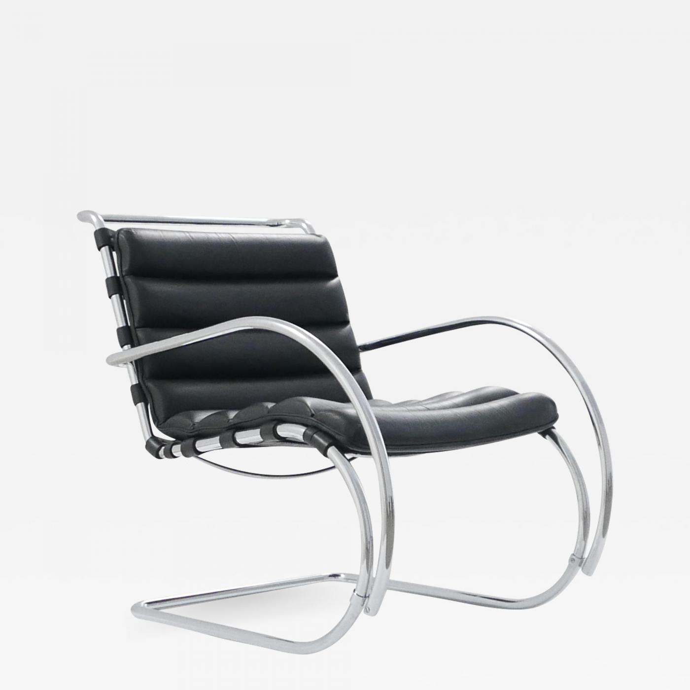 Swell Ludwig Mies Van Der Rohe Mr Lounge Chair With Chrome Squirreltailoven Fun Painted Chair Ideas Images Squirreltailovenorg