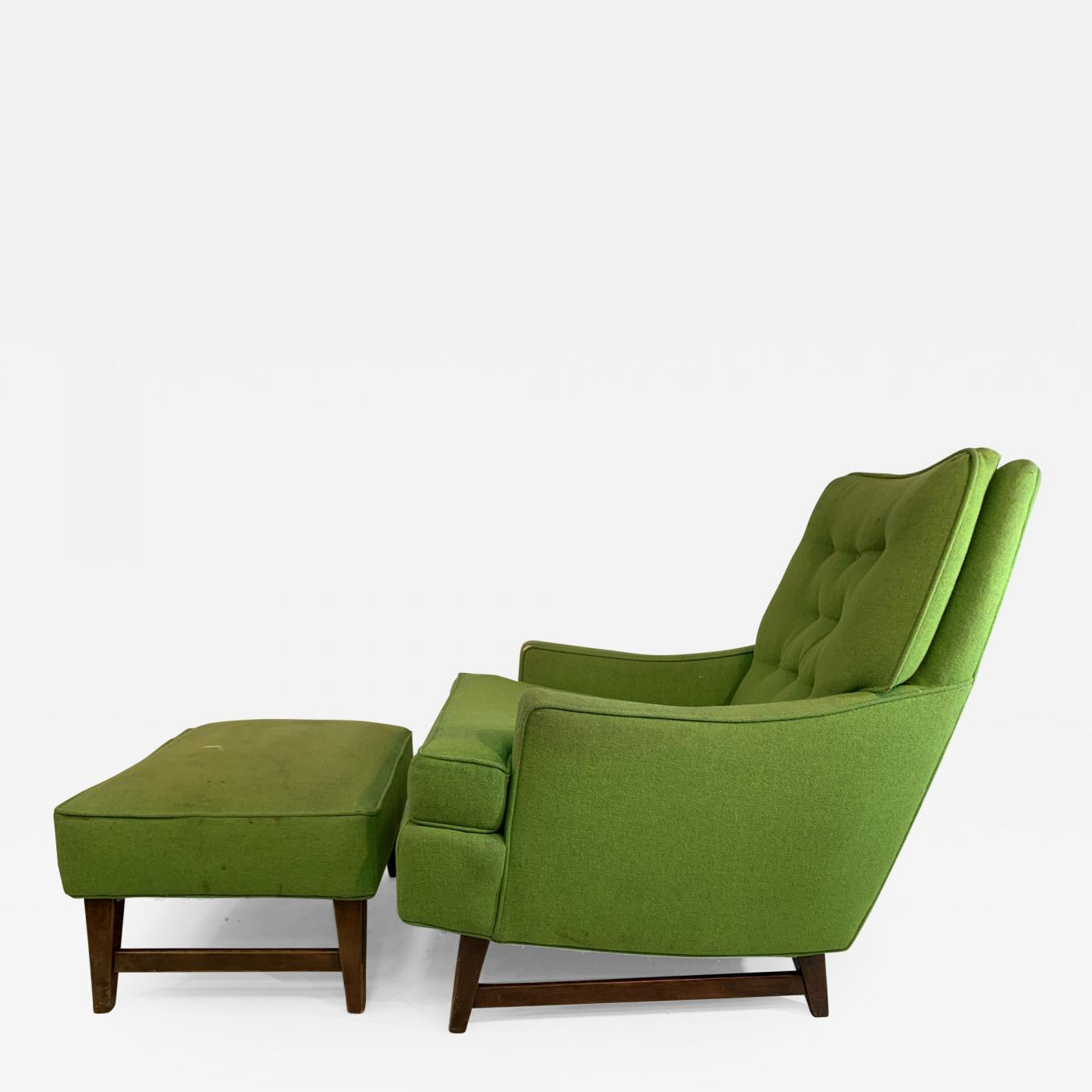Amazing Mid Century Modern Club Chair And Ottoman Gamerscity Chair Design For Home Gamerscityorg