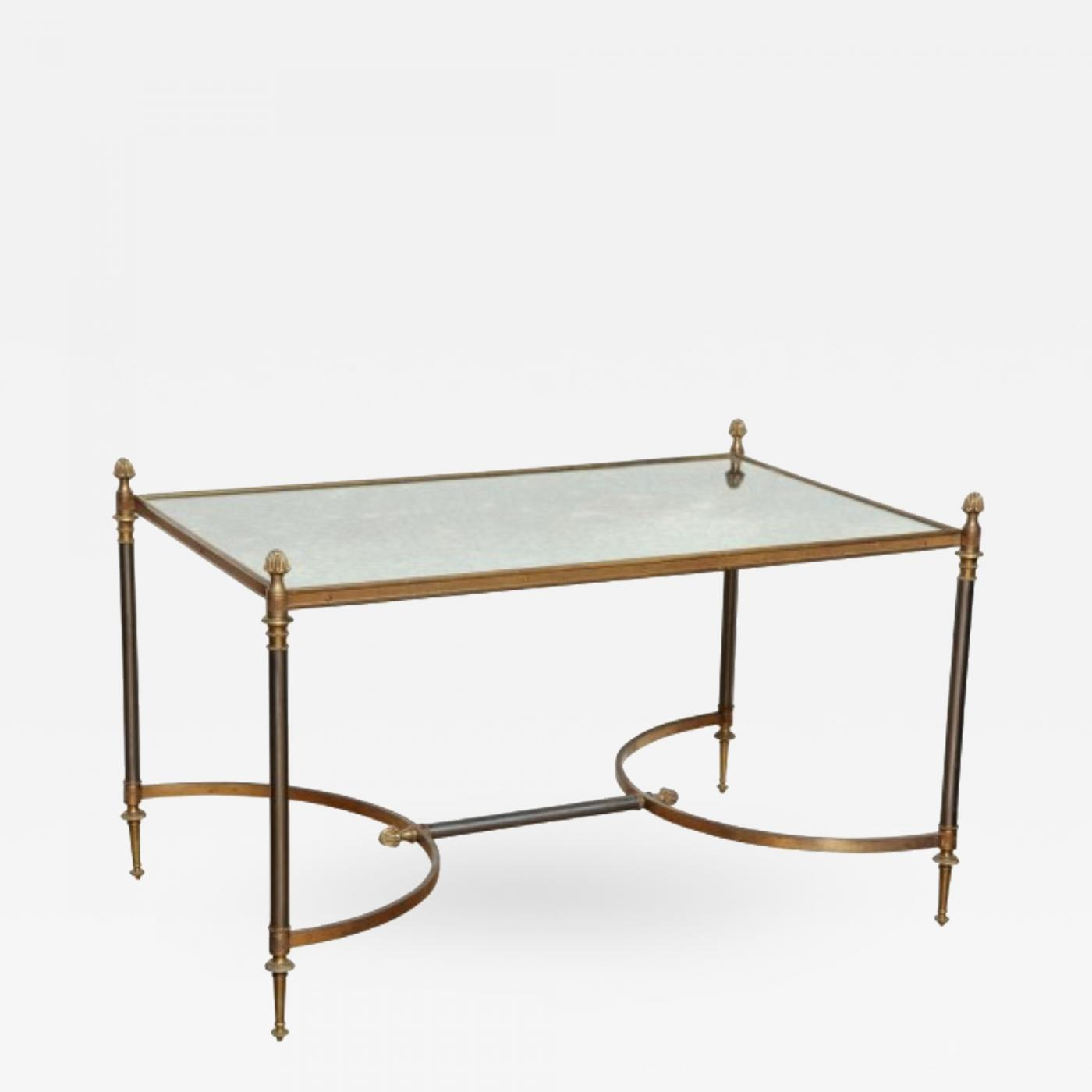 Maison Bagu¨s A French Bagues Louis XVI Style Coffee Table