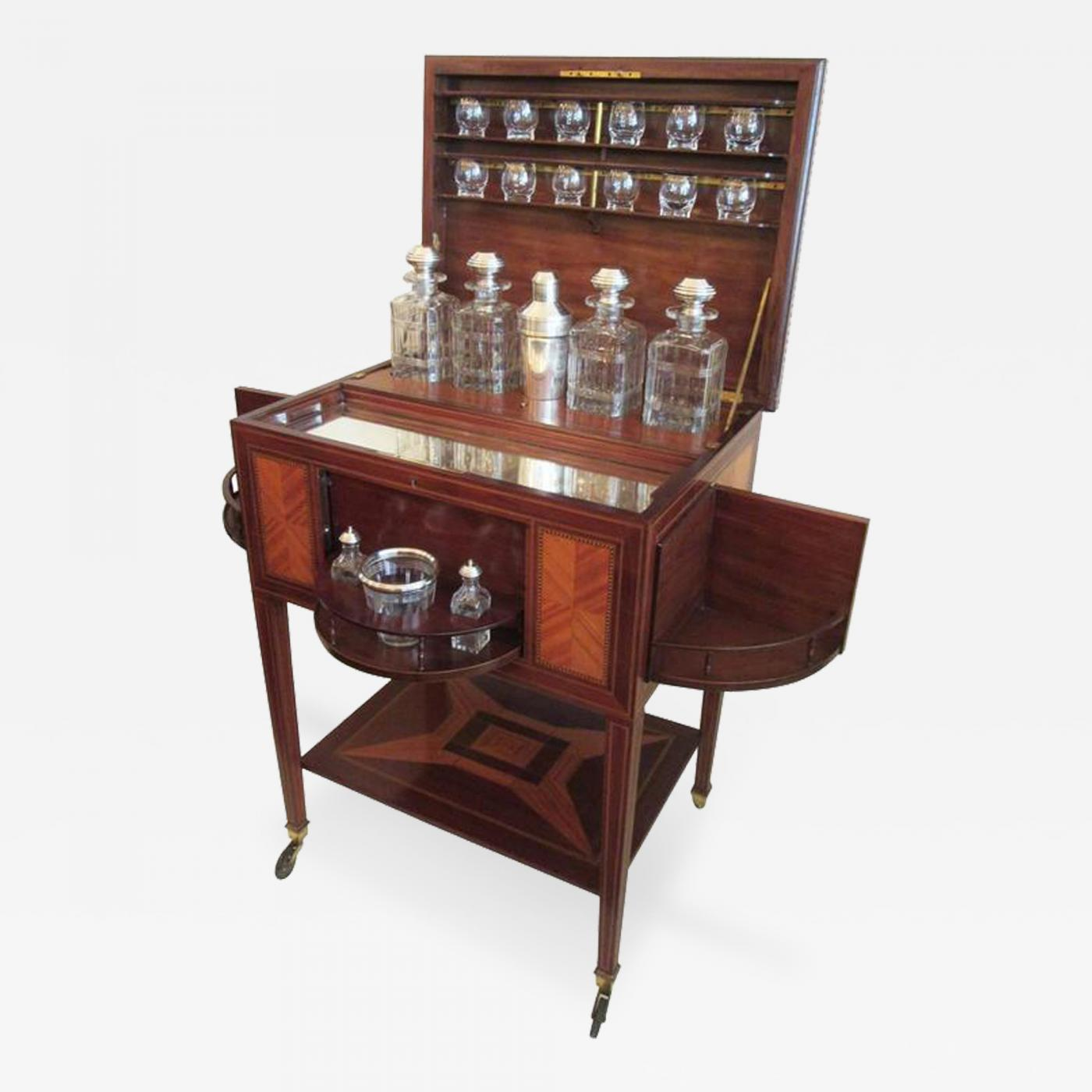 Maison Boin Taburet 19th C French Art Deco Drinks Cabinet