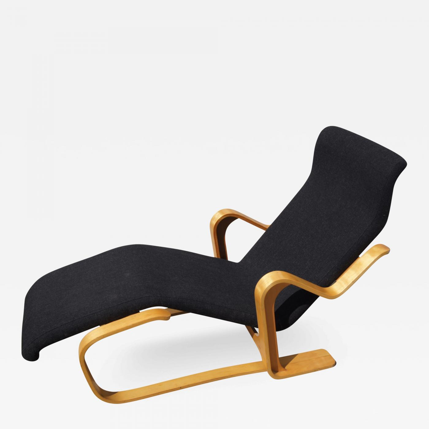 Chaise Longue By Marcel Breuer For Gavina
