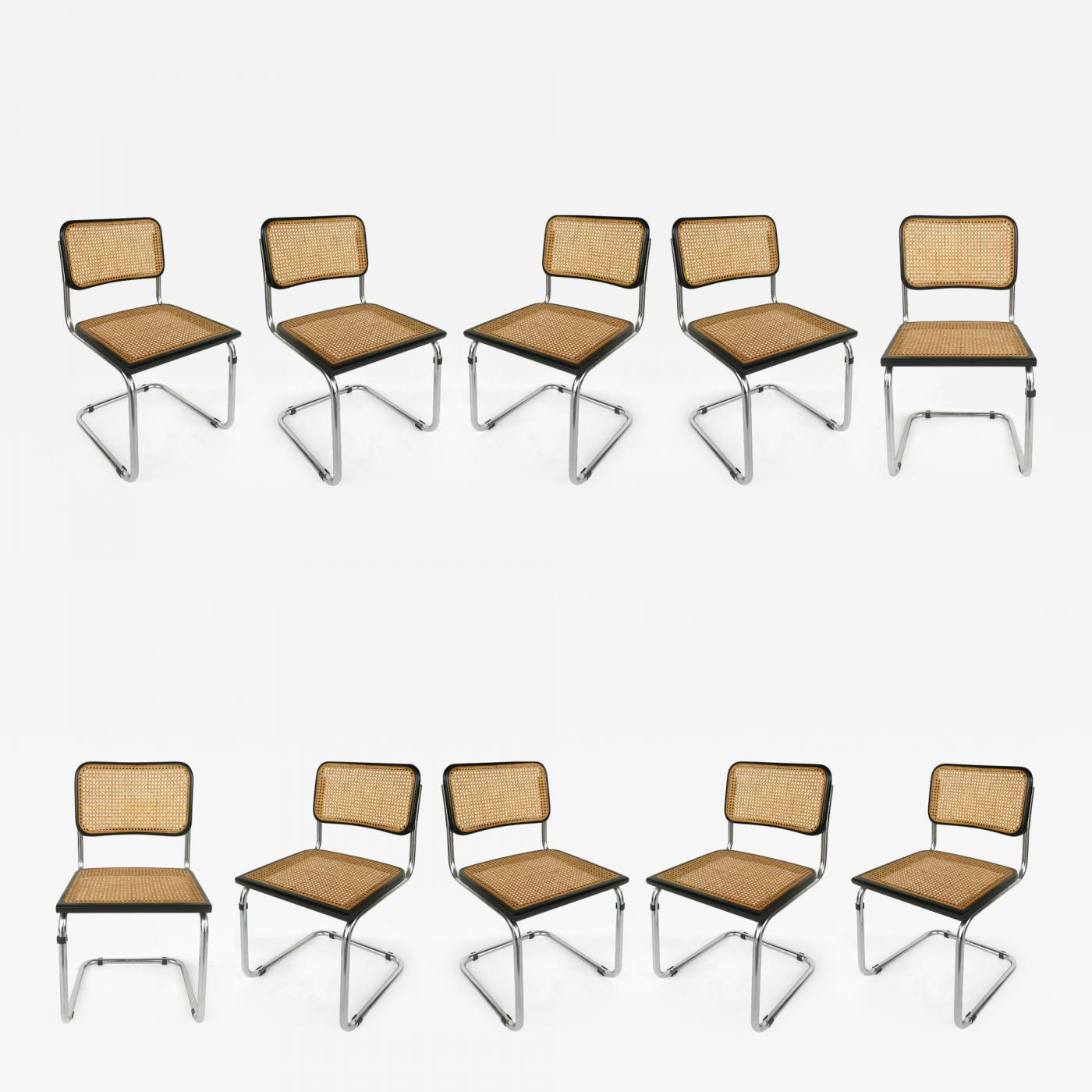 Groovy Marcel Breuer Marcel Breuer Knoll Cesca Set 10 Cane Dining Chairs Italy Pdpeps Interior Chair Design Pdpepsorg