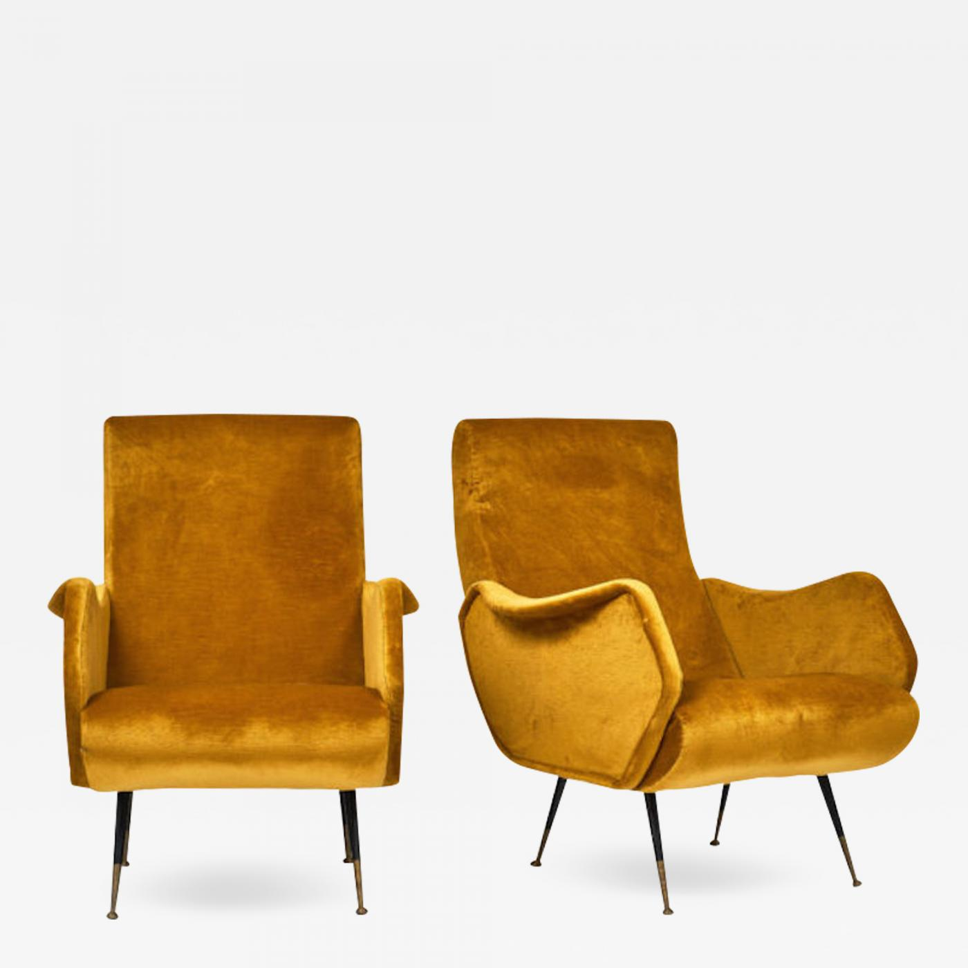 Incredible Marco Zanuso Marco Zanuso Style Mid Century Modern Armchairs Ocoug Best Dining Table And Chair Ideas Images Ocougorg