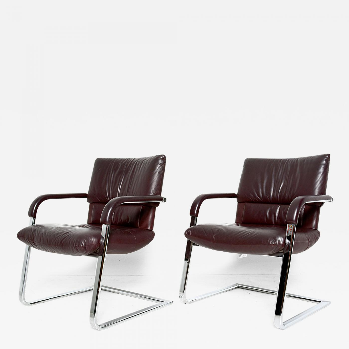 Mario Bellini Pair of Imago Chairs by Mario Bellini for Vitra