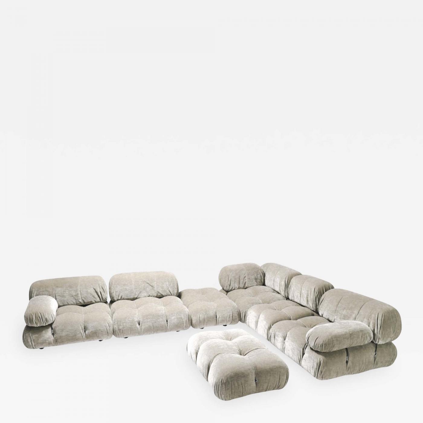 Strange Mario Bellini Velvet Sectional Sofa Model Camaleonda By Creativecarmelina Interior Chair Design Creativecarmelinacom