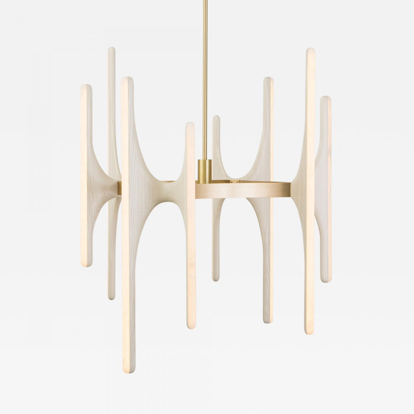 Markus haase markus haase bleached ash and onyx chandelier usa 2016 listings furniture lighting chandeliers and pendants aloadofball