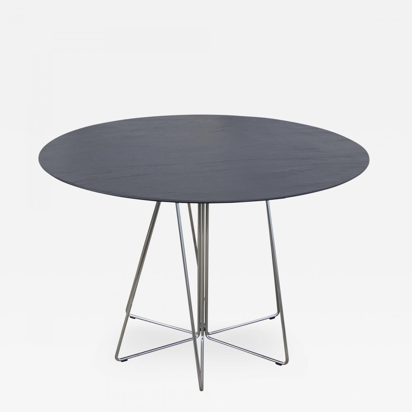 Massimo Vignelli PaperClip Table by Lella and Massimo Vignelli