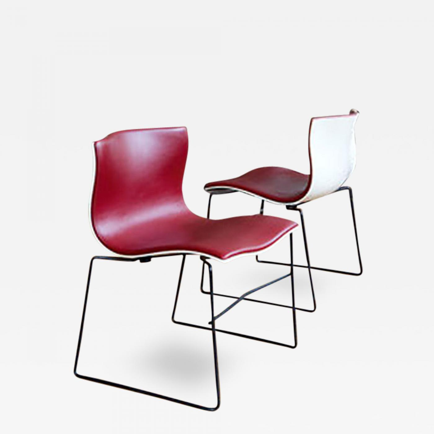 Listings / Furniture / Seating / Side Chairs · Massimo Vignelli Vignelli Handkerchief  Chairs
