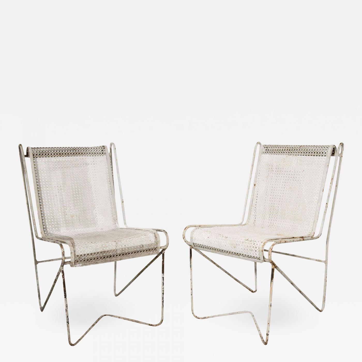 Fantastic Mathieu Mategot Mathieu Mategot Enameled Steel Casablanca Dining Chairs Caraccident5 Cool Chair Designs And Ideas Caraccident5Info