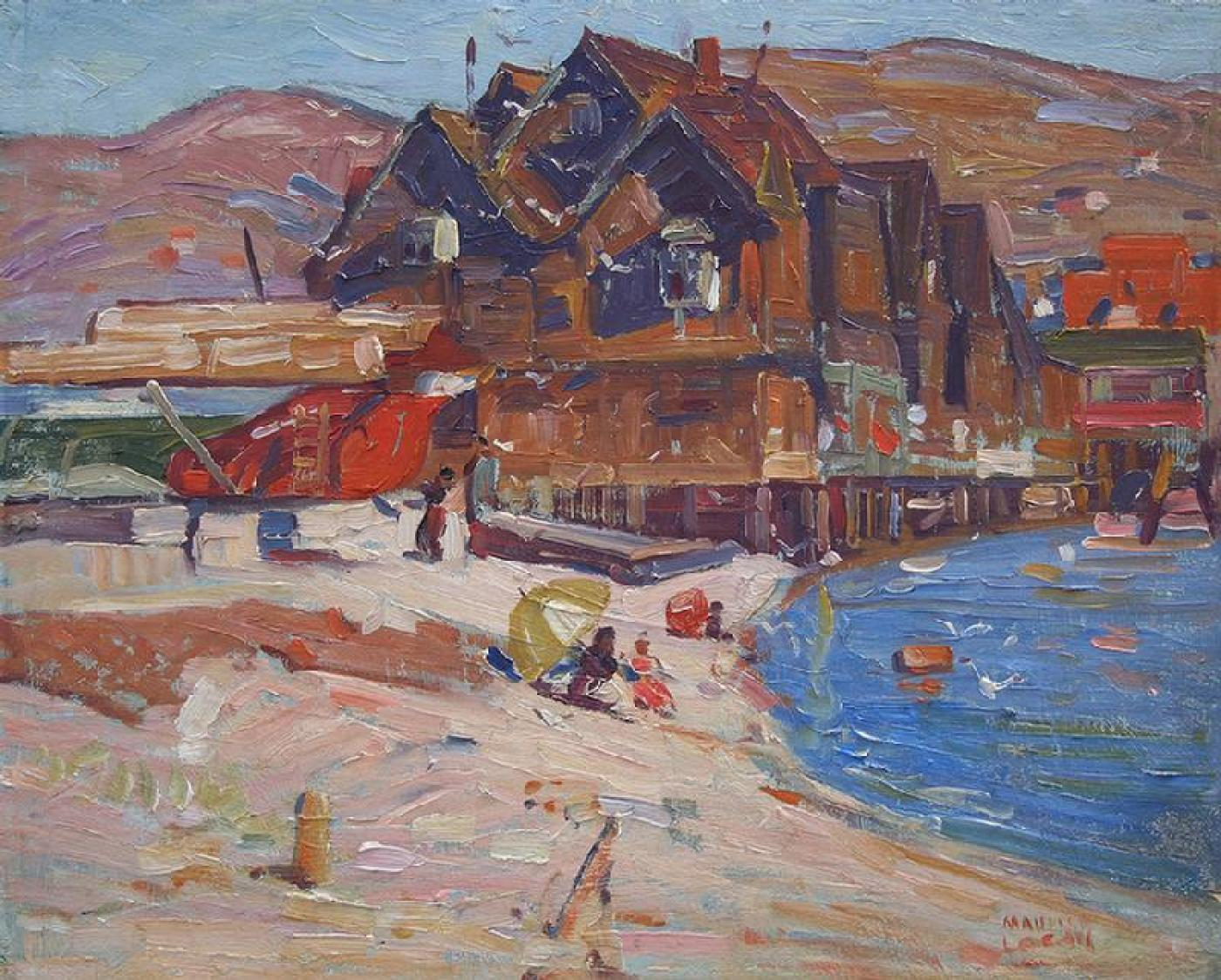 "Maurice George Logan - ""Bay Area Waterfront"""