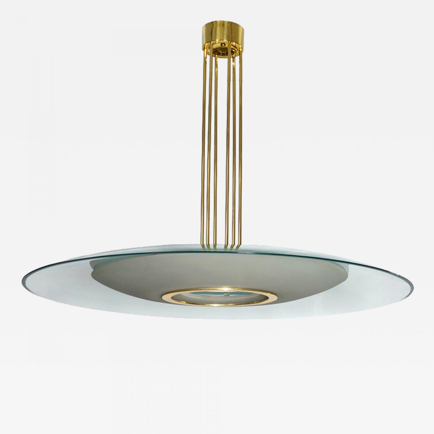 d7489a38808 Max Ingrand - Large Chandelier by Max Ingrand for Fontana Arte