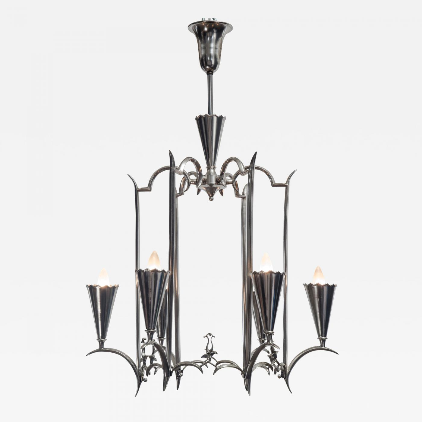 product chandelier kayden today free brushed nickel overstock quoizel home garden light shipping quoize