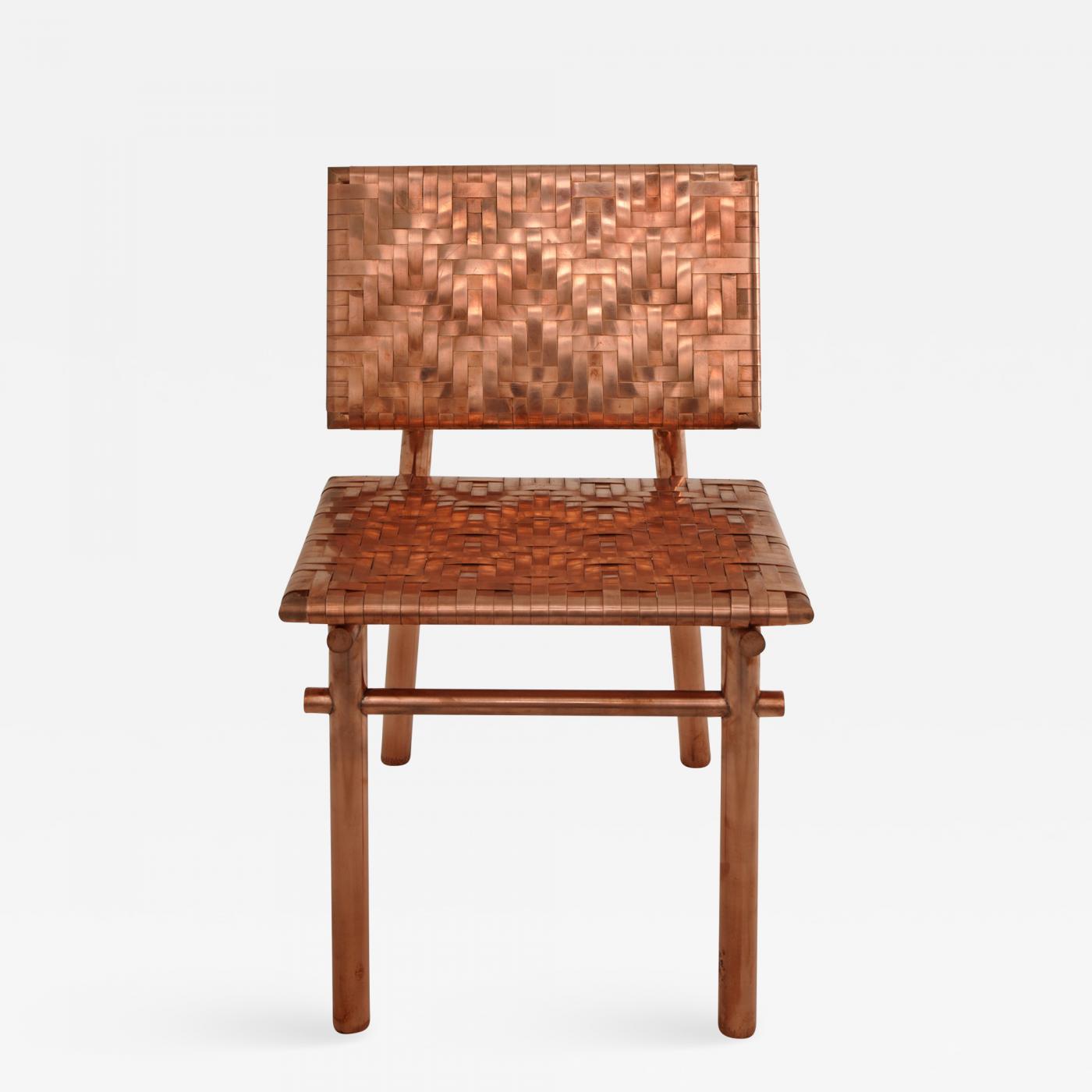 Remarkable Michael Gittings Rec Rec Chair Copper Chair Signed By Michael Gittings Creativecarmelina Interior Chair Design Creativecarmelinacom