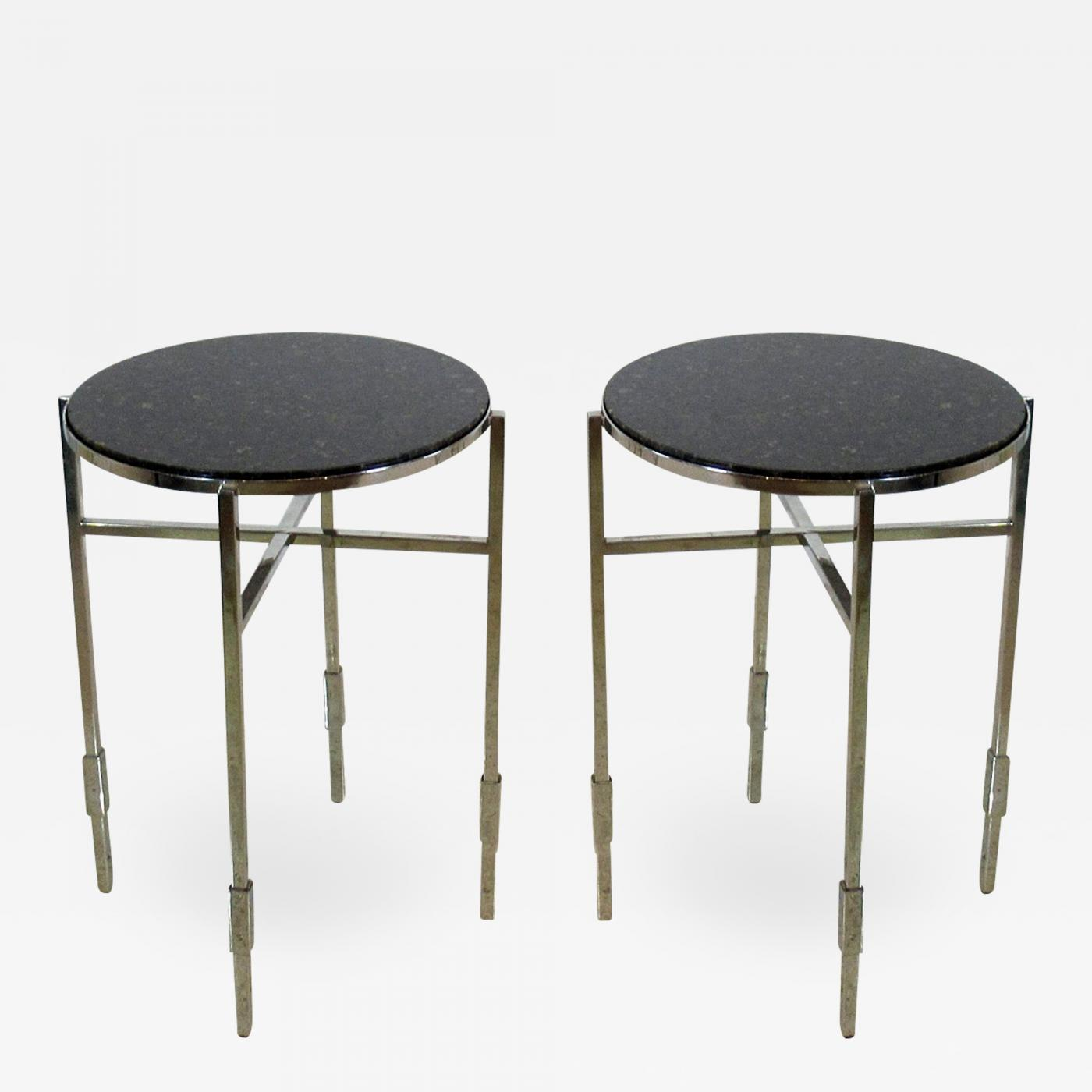 Prime Michael Graves American Modern Polished Chrome Granite Occasional Tables Michael Graves Download Free Architecture Designs Itiscsunscenecom