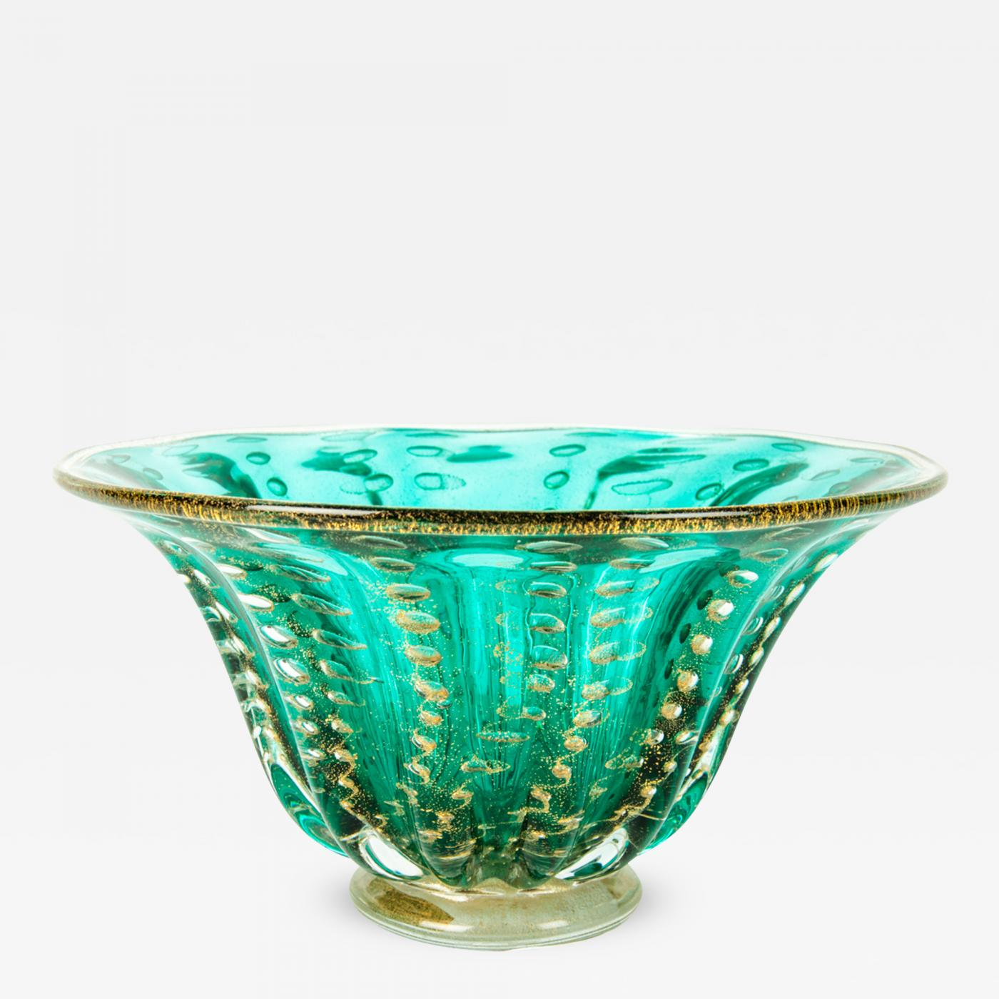 Mid 20th Century Murano Glass Decorative Bowl Piece