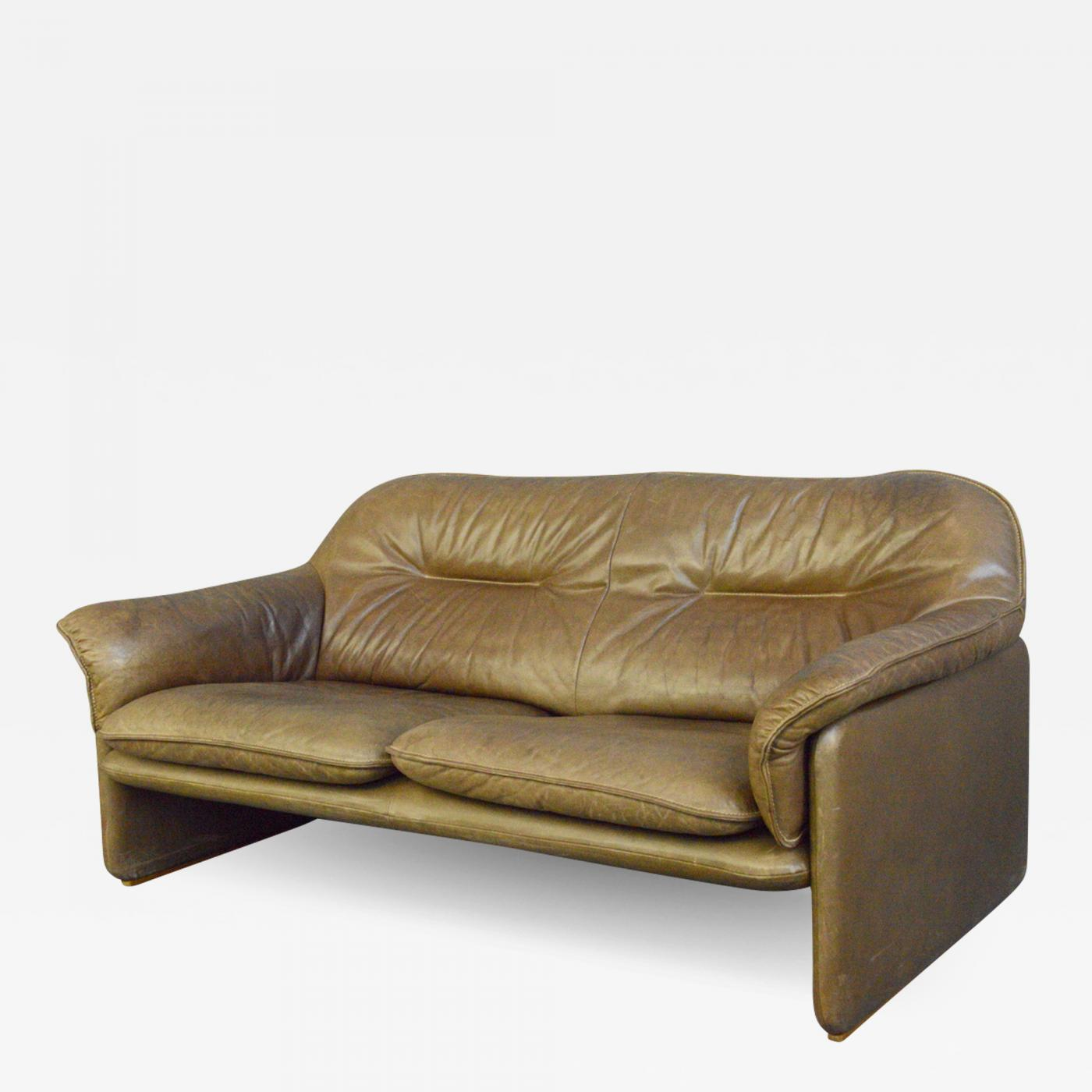 Picture of: Mid Century Leather Sofa By De Sede Circa 1960s