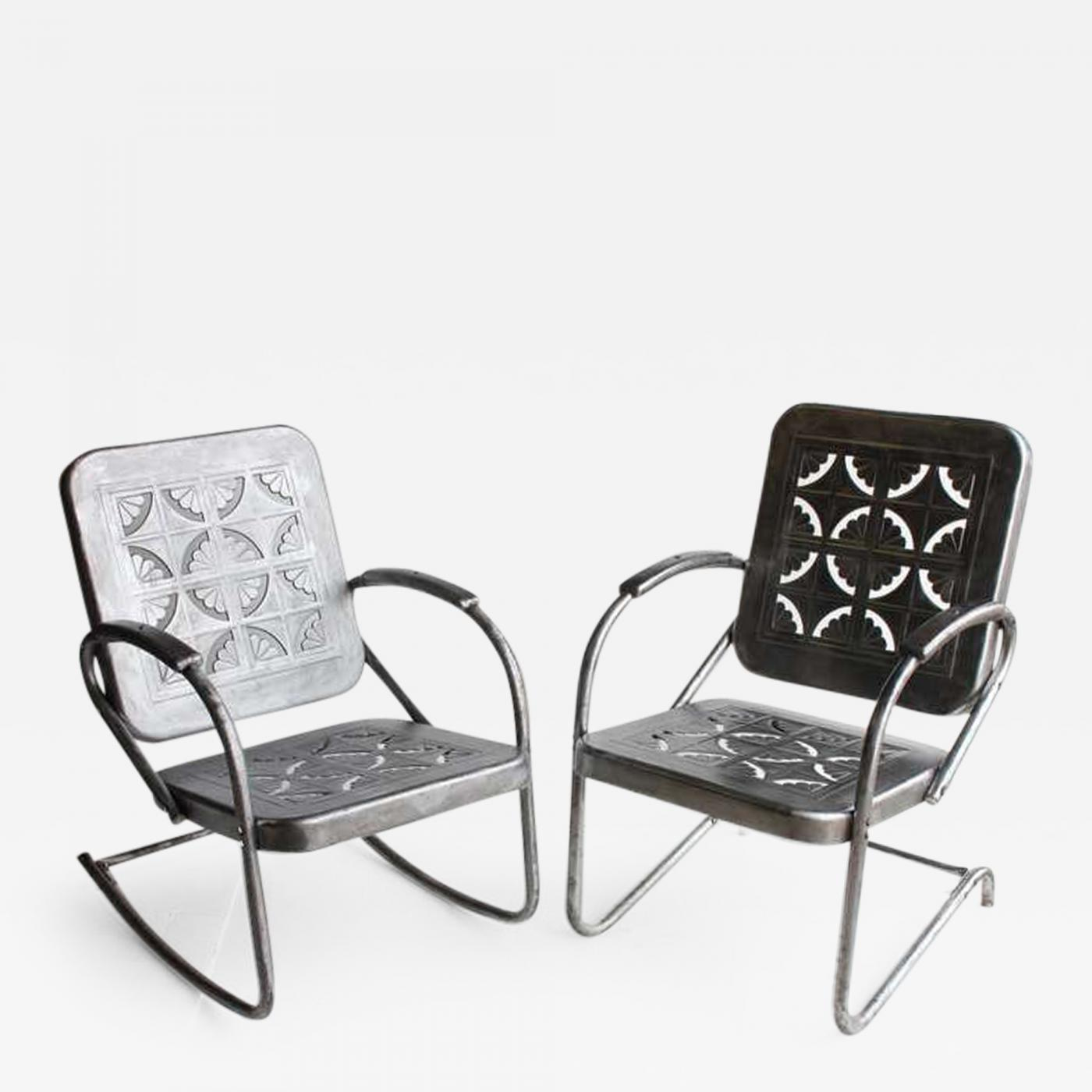 Excellent Mid Century Metal Garden Chairs Bralicious Painted Fabric Chair Ideas Braliciousco