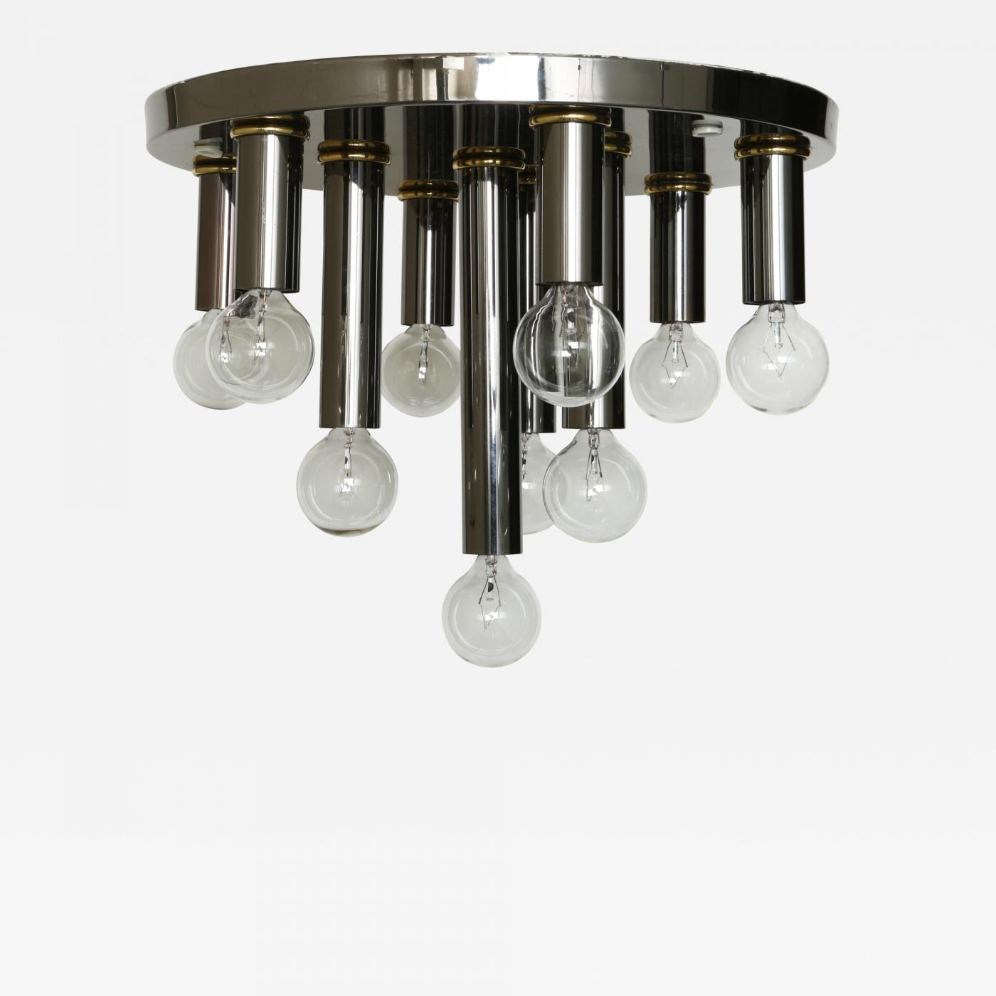 Image of: Mid Century Modern Flush Mount